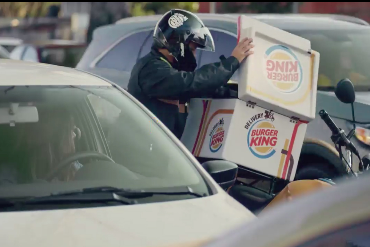 Burger King is now delivering Whoppers to your car when you
