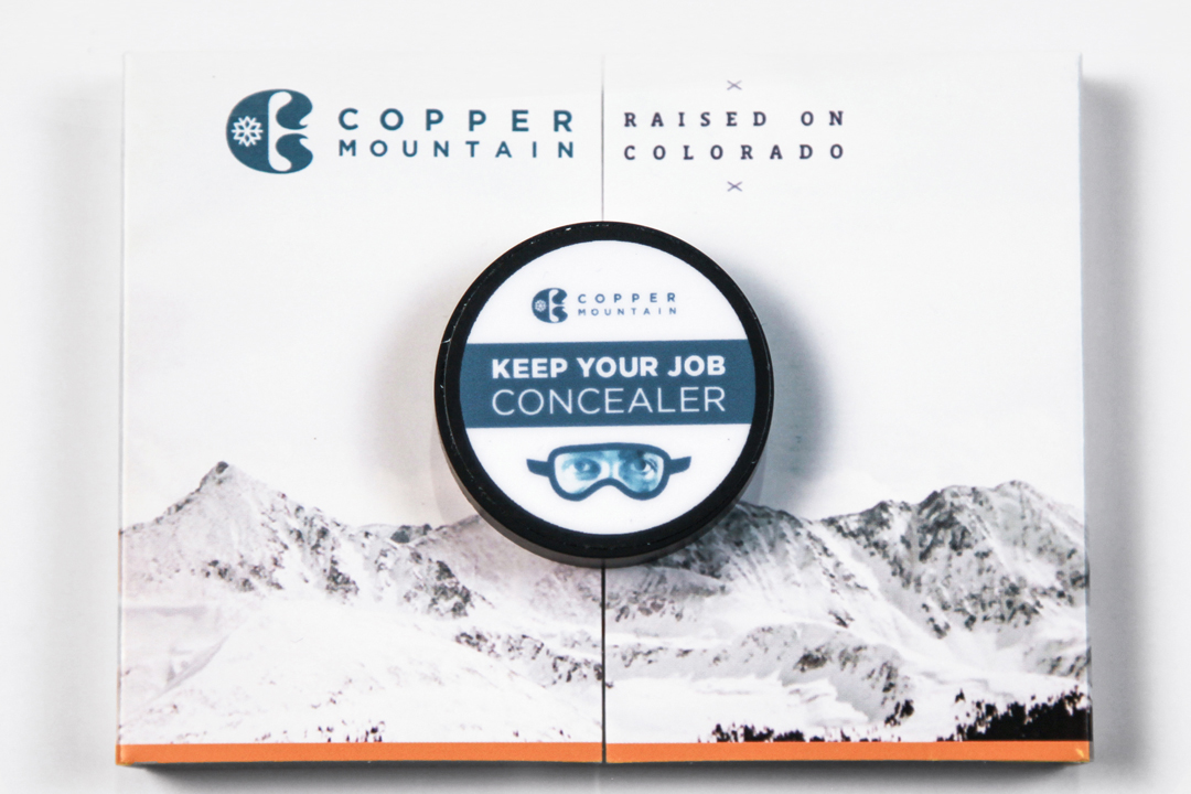 Copper Mountain: Keep Your Job Concealer