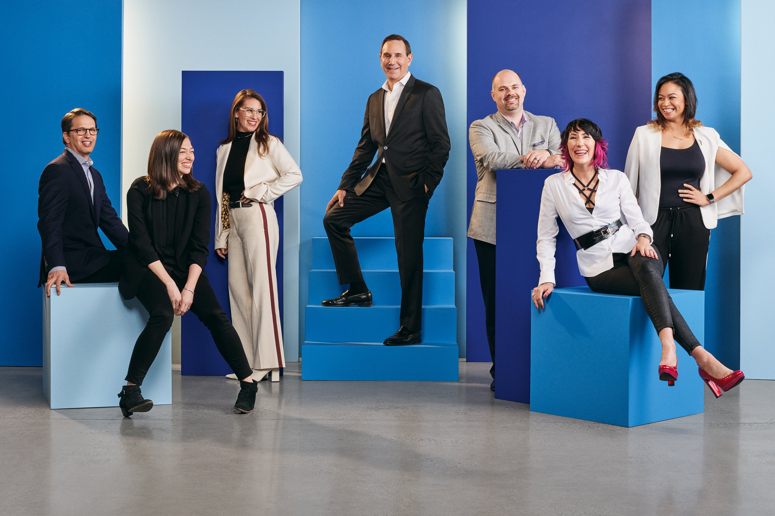 Edelman leadership group photo