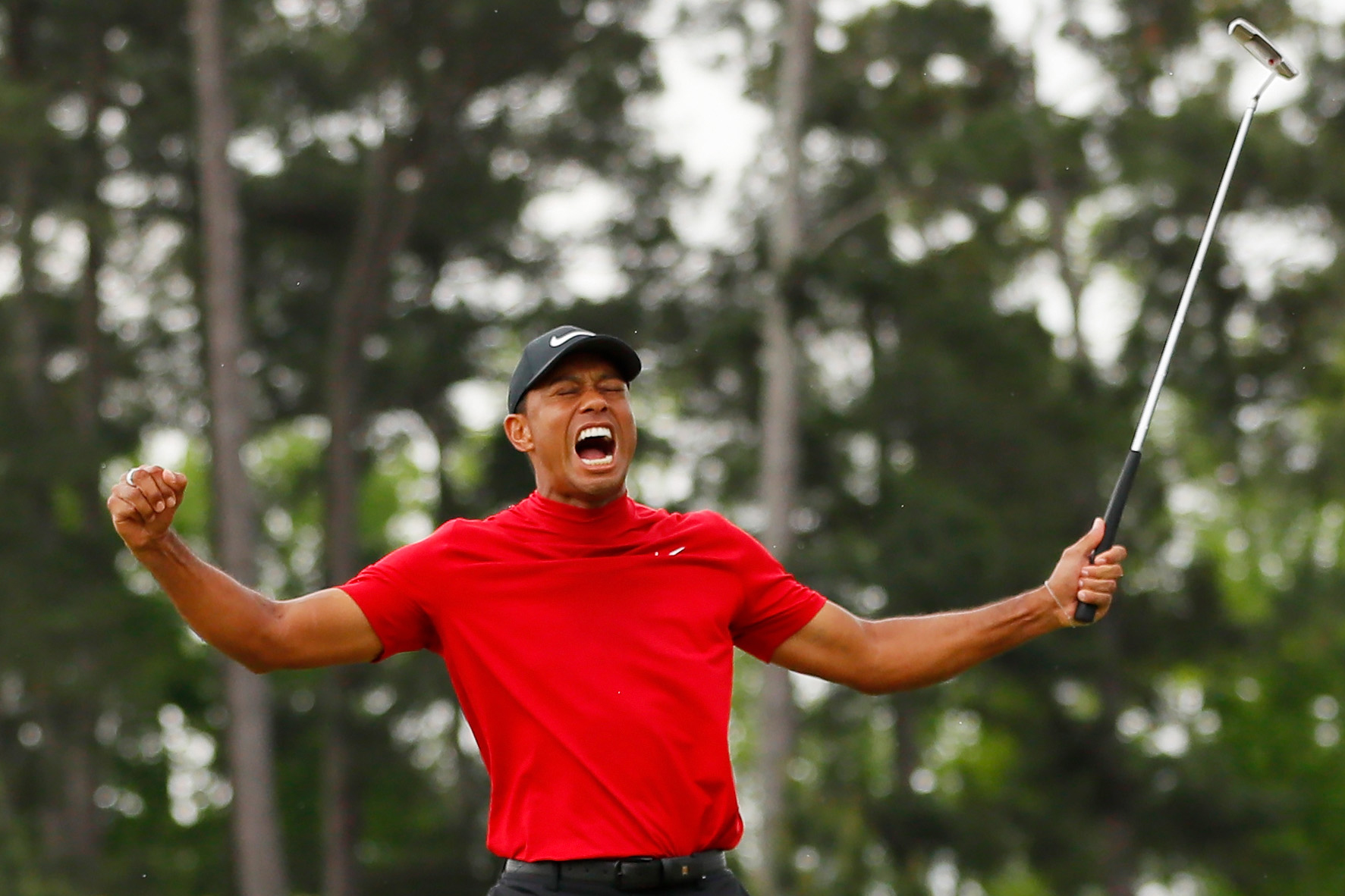 Tiger Woods Masters CBS Nielsen Sports Golf
