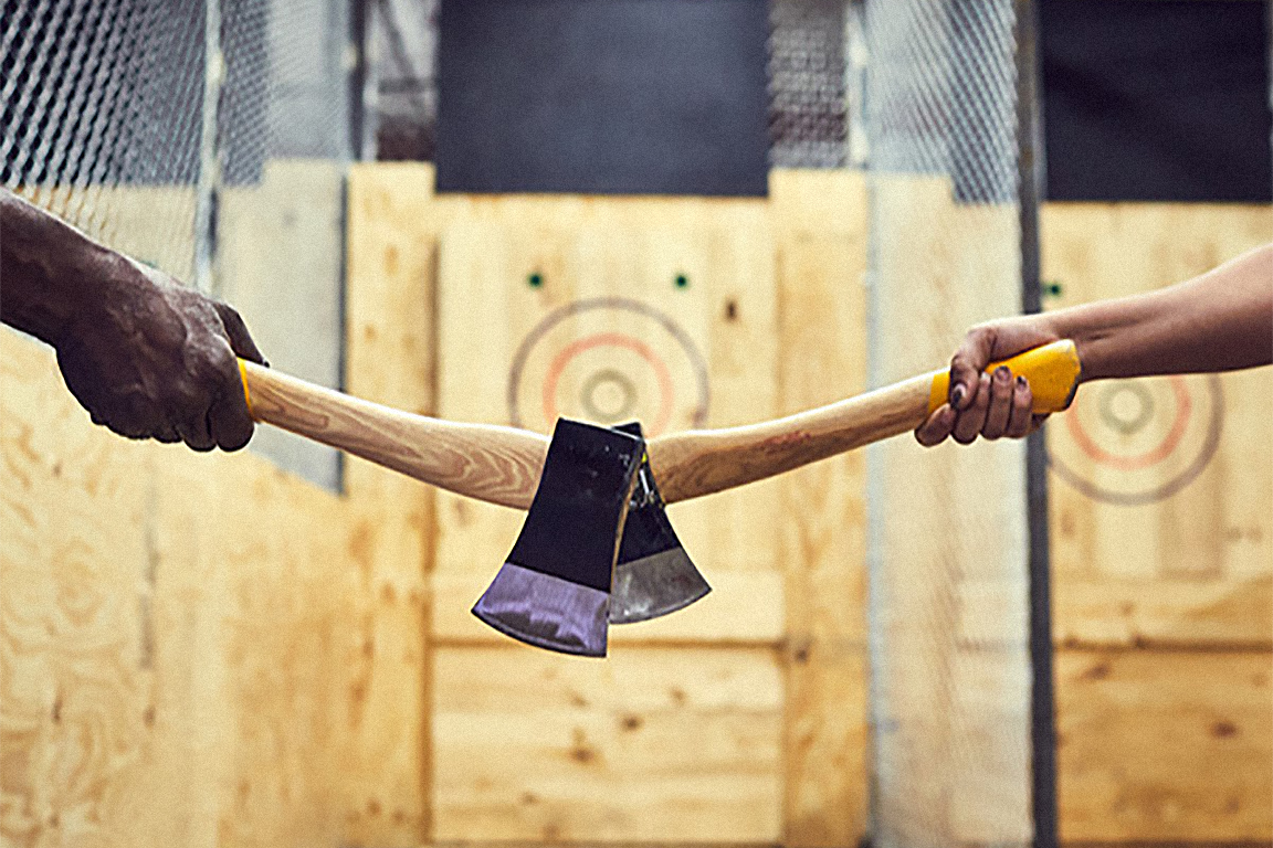 If I knew then what I know now .... I'd have gone axe throwing
