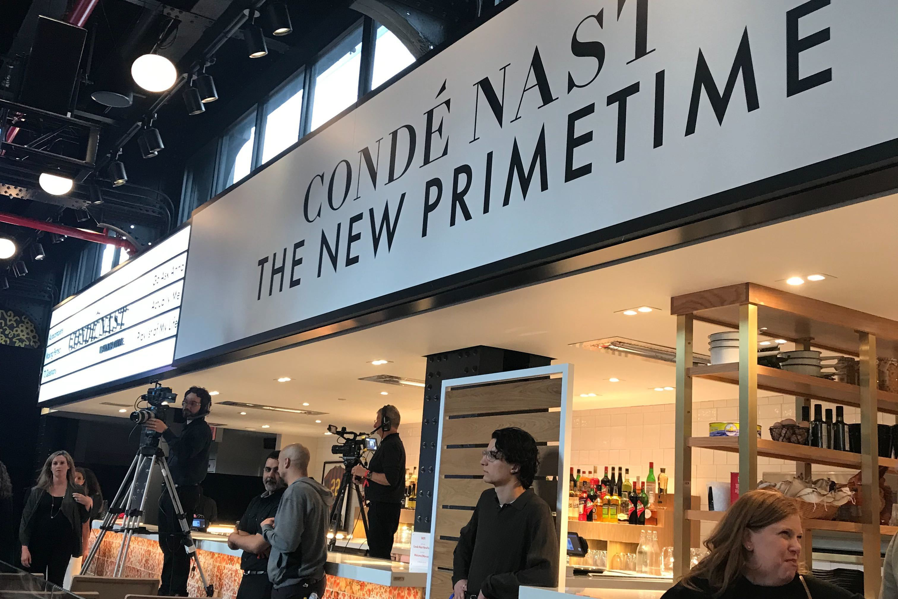 NewFronts Day 2: snakes, brand safety and Conde Nast takes Hudson Yards