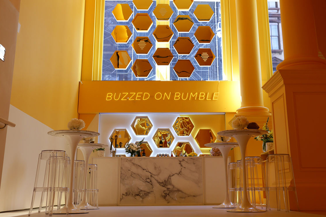 Dating app Bumble is opening up a wine bar