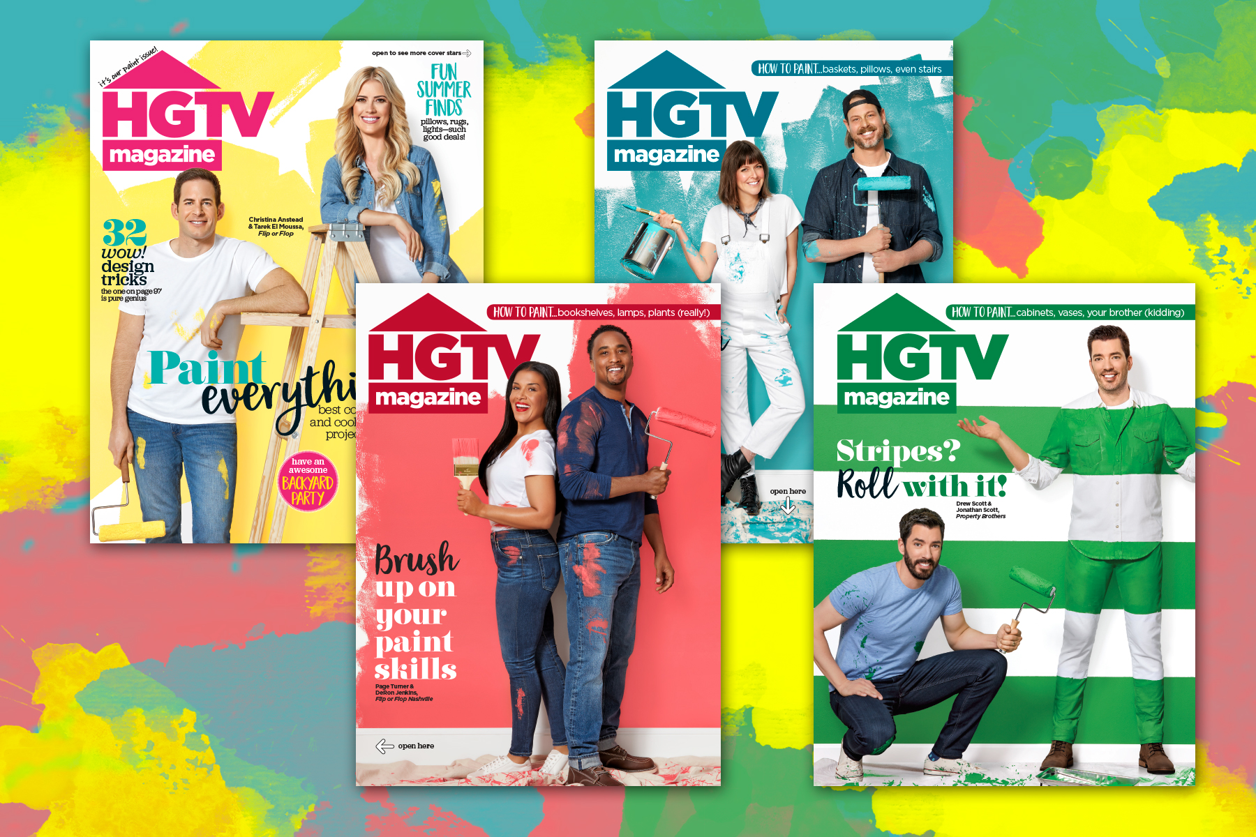 HGTV stars get their own collectible covers, the New York Post obsesses about AOC, Conde Nast diversifies: Publisher's Brief