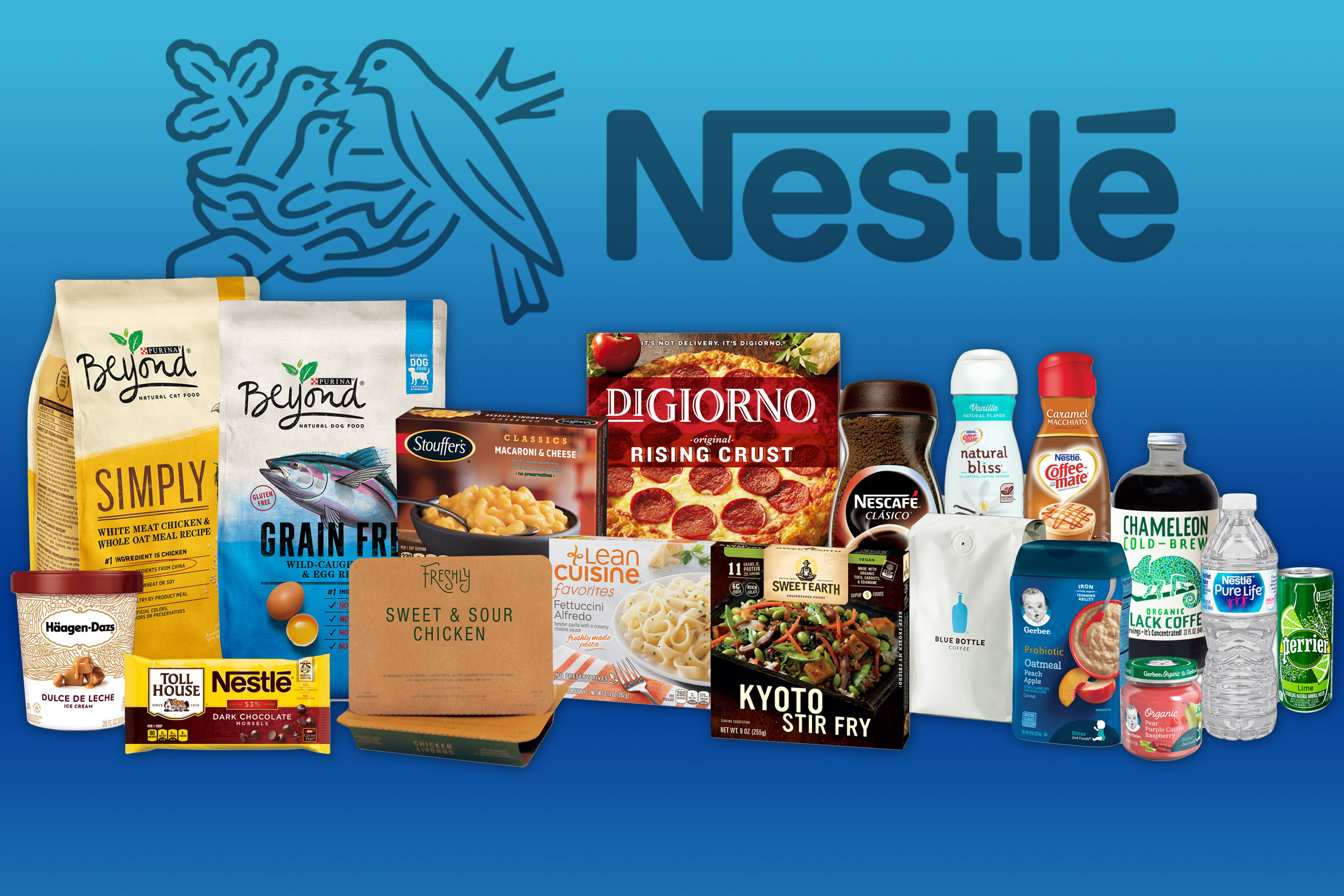 Nestle SA's U.S. unit will lay off about 4,000 workers as it transitions to a warehouse model