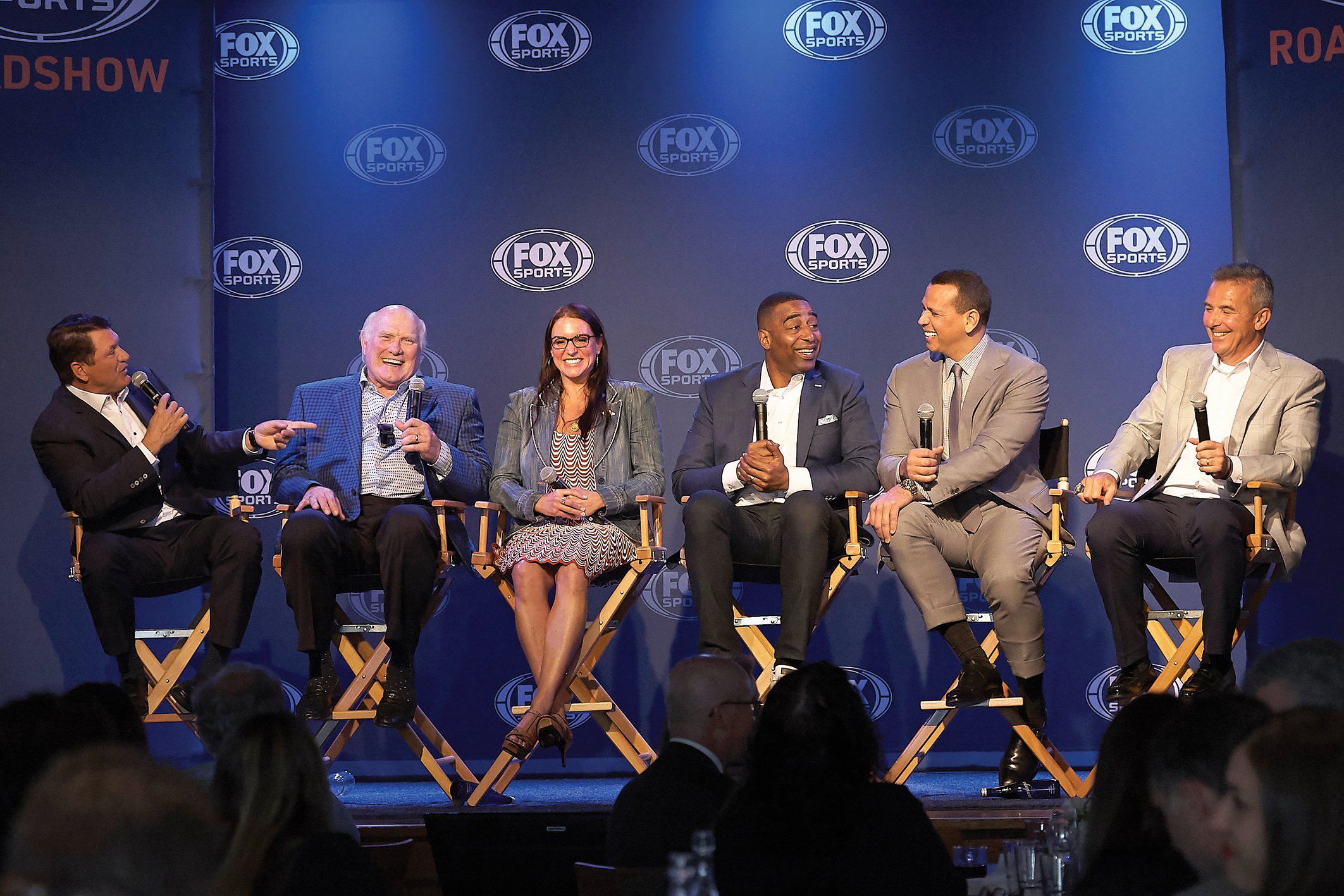 Fox Sports' upfront with Terry Bradshaw, Alex Rodriguez and more offers a look into its focus on live broadcasts.