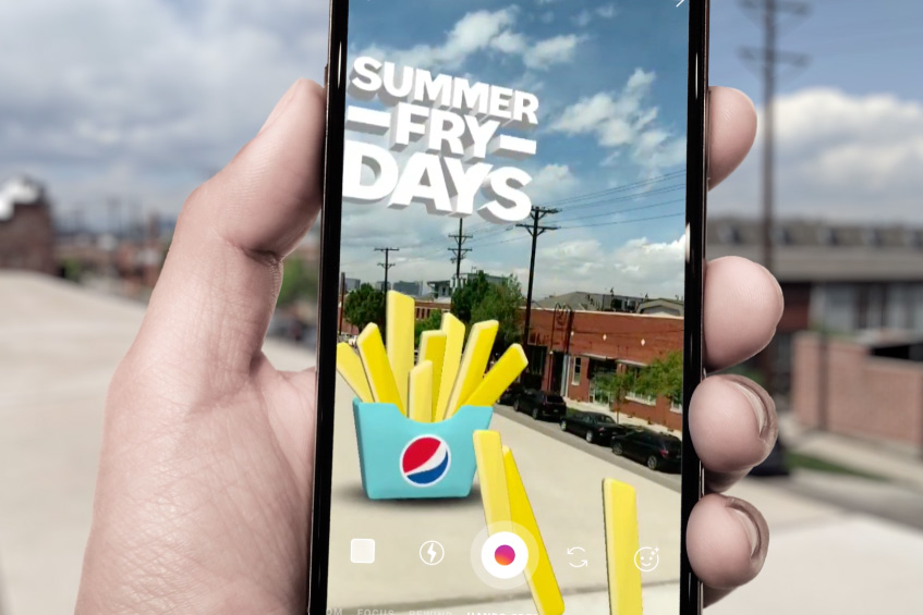 Pepsi uses new Instagram tech in summer campaign.