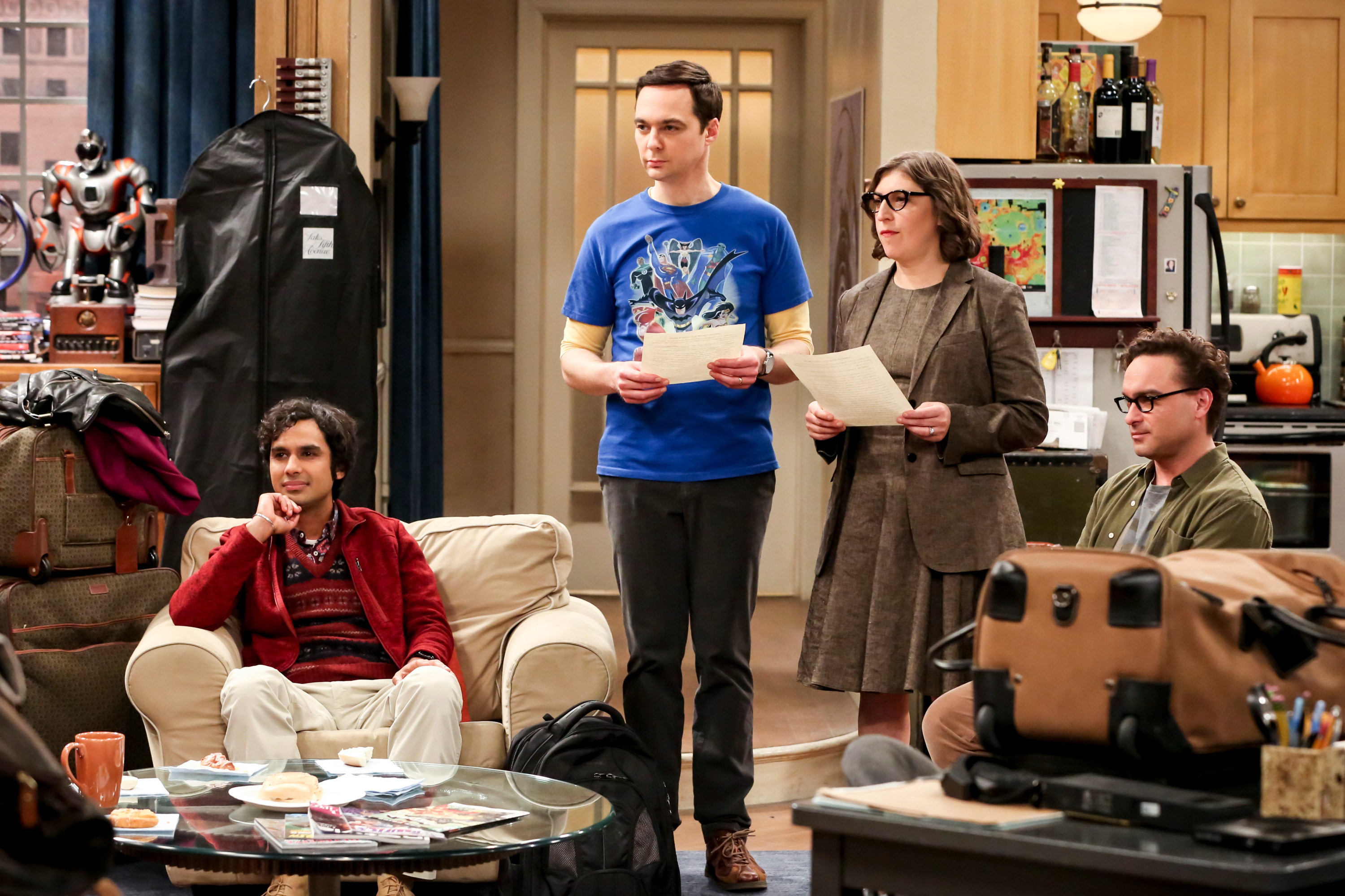 The Big bang Theory CBS Nielsen ratings series finale