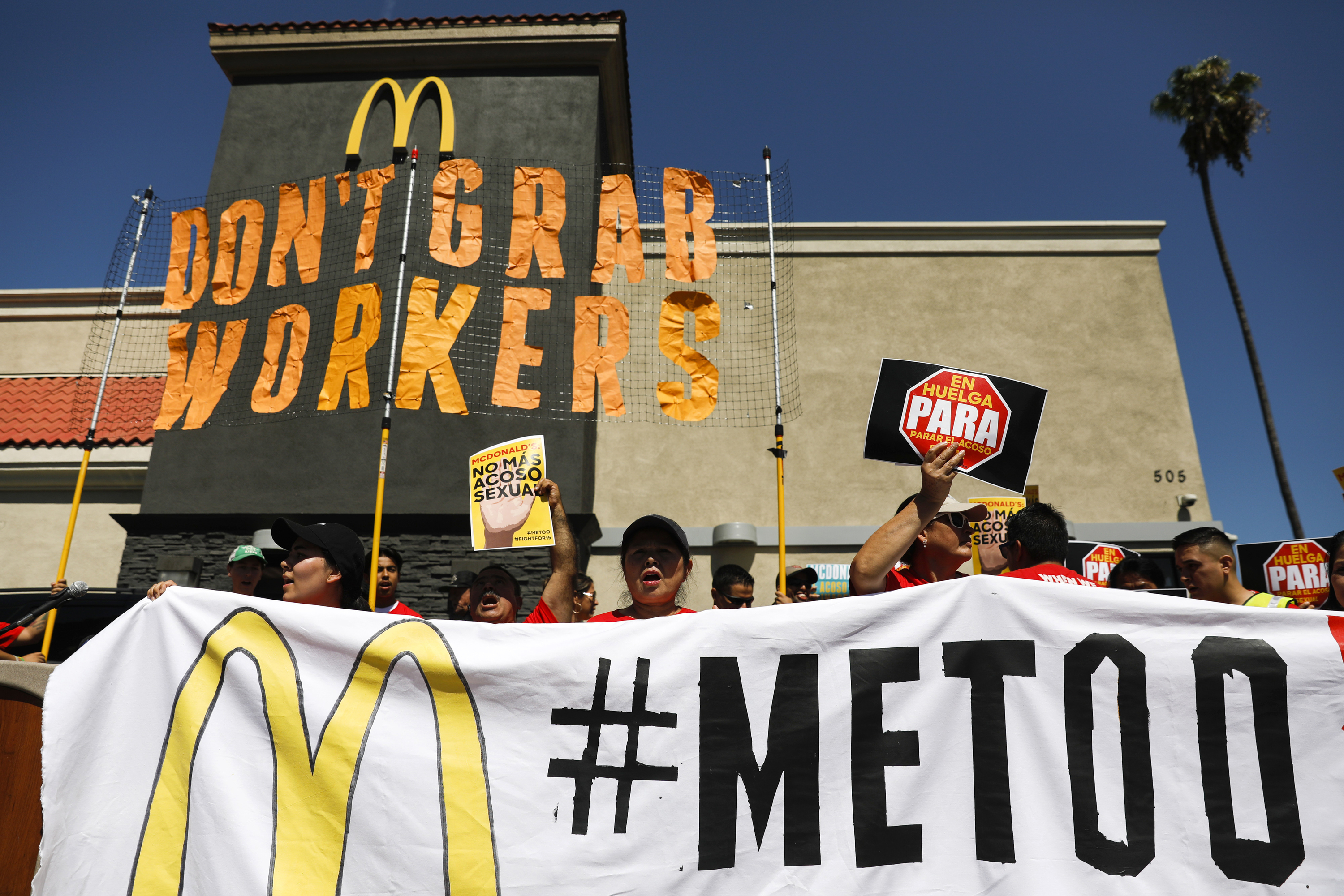 McDonald's revamps its harassment policy as criticism mounts