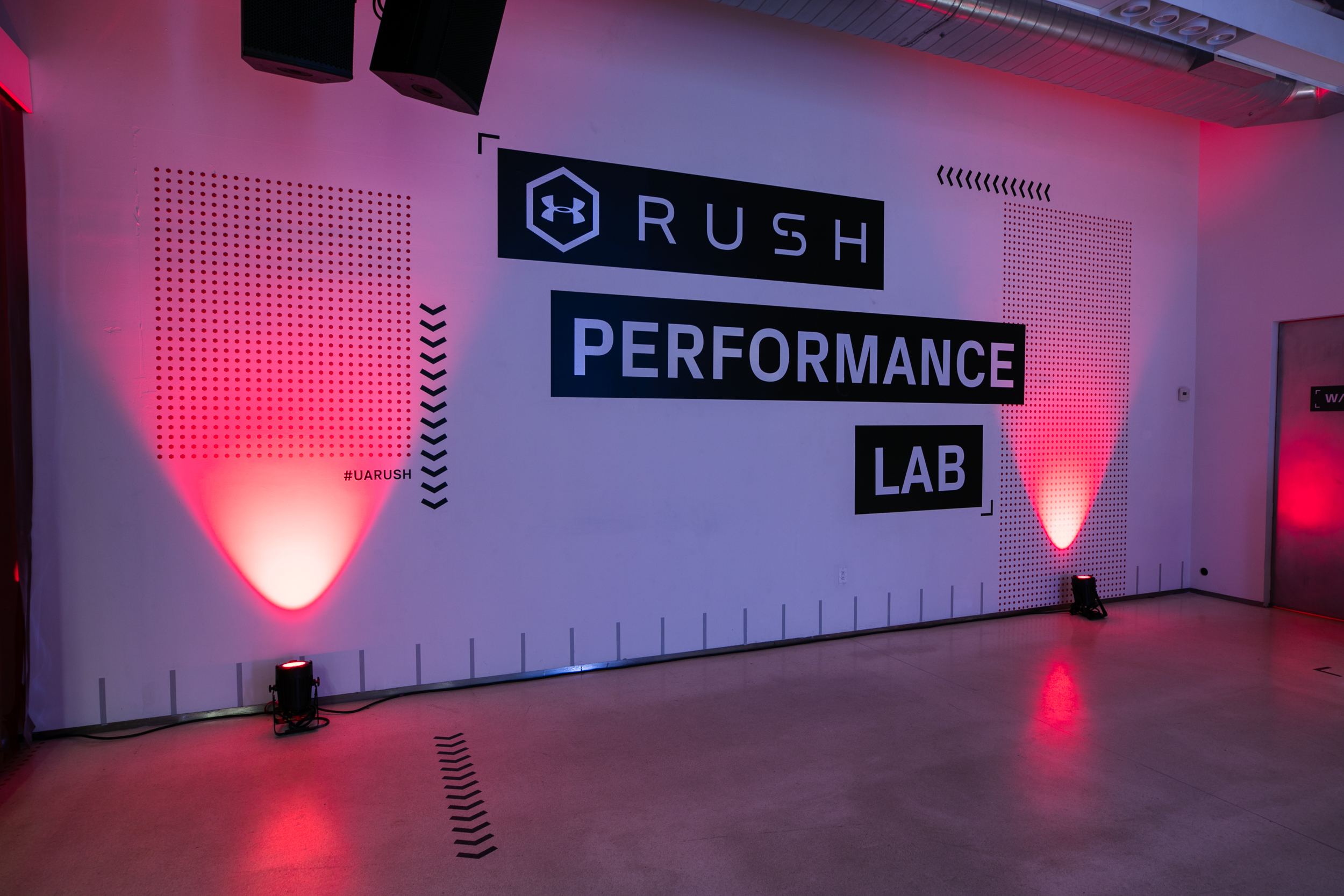 Under Armour converts body energy to light at new pop-up activation