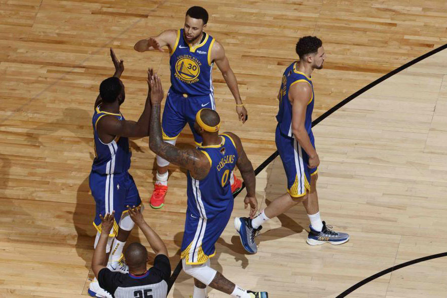 NBA Finals ABC Nielsen ratings LeBron James Drake Klay Thompson Kevin Durant