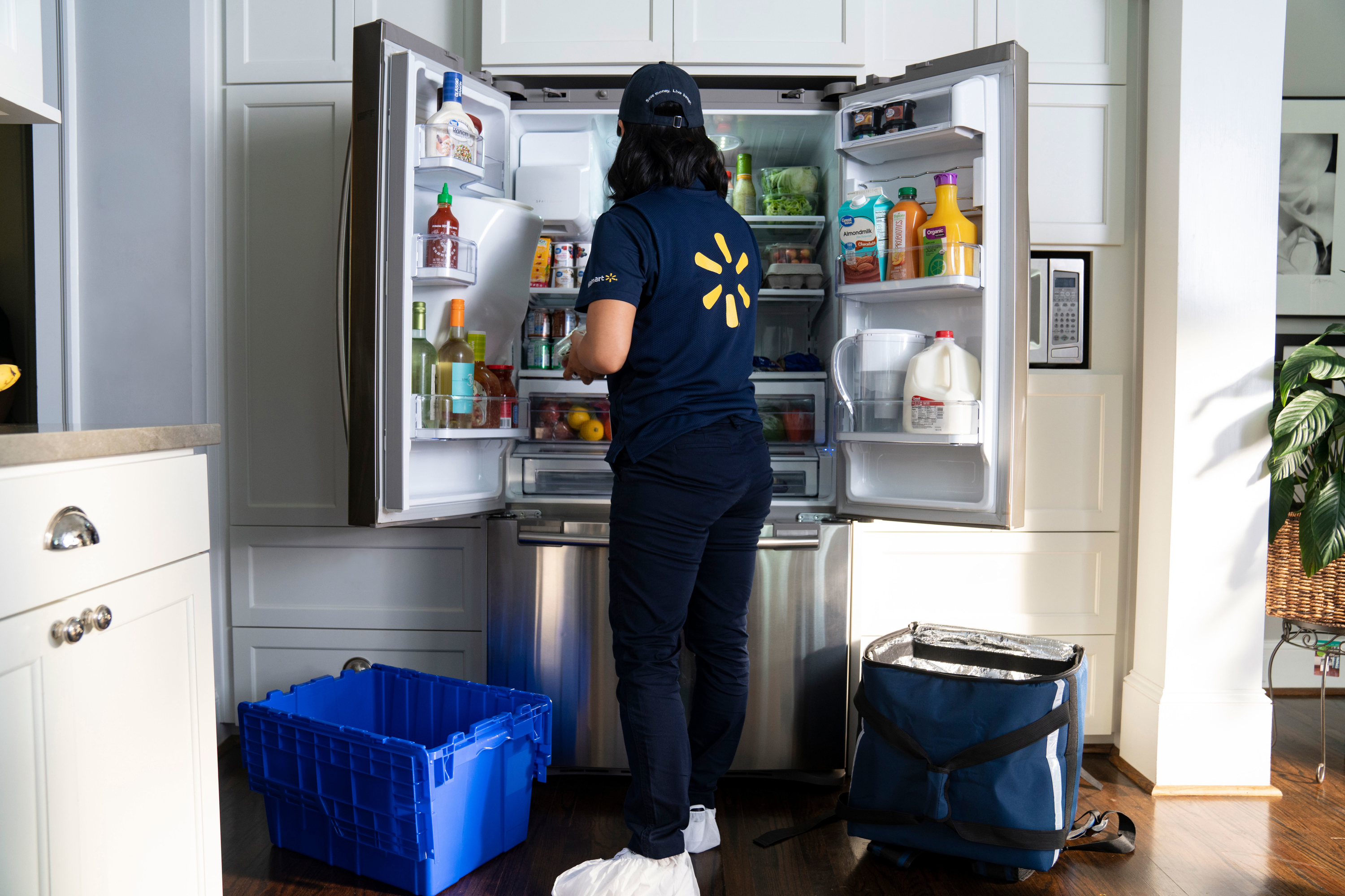 Walmart's new delivery service will put groceries directly in your fridge