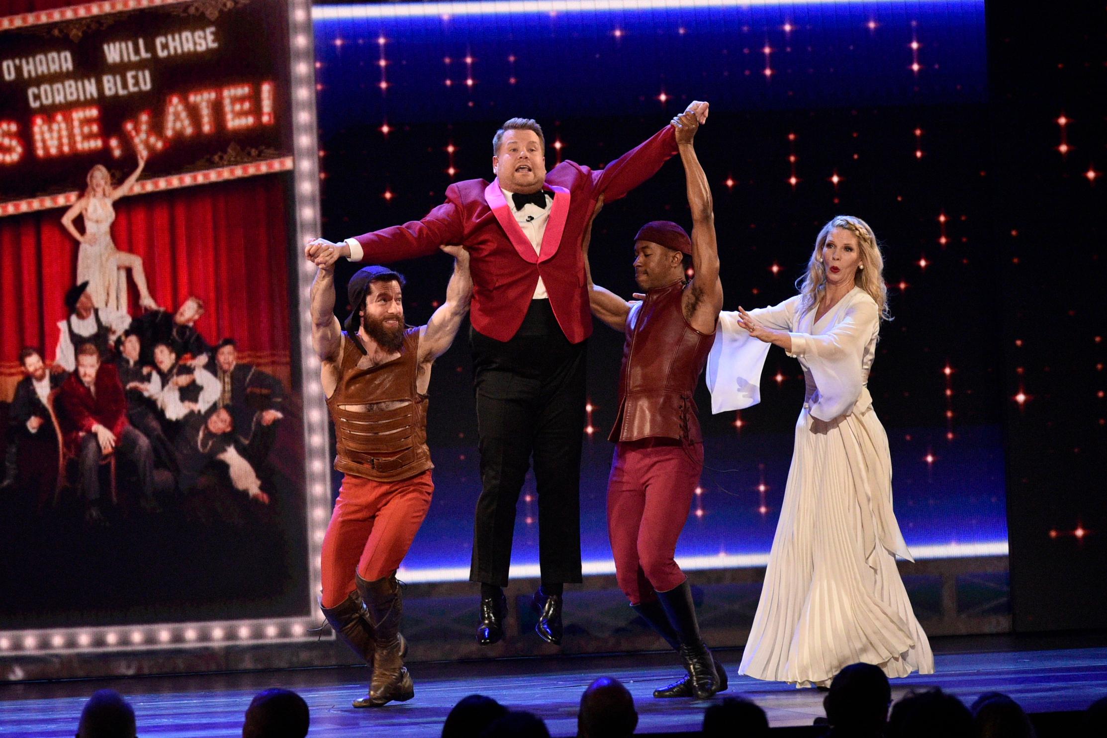 Tony Awards Stanley Cup Nielsen ratings CBS James Corden NBC