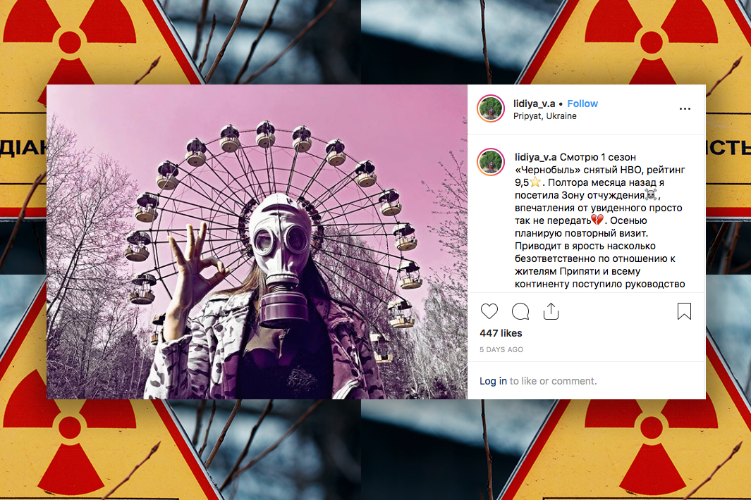 Influencers head to Chernobyl after HBO's show