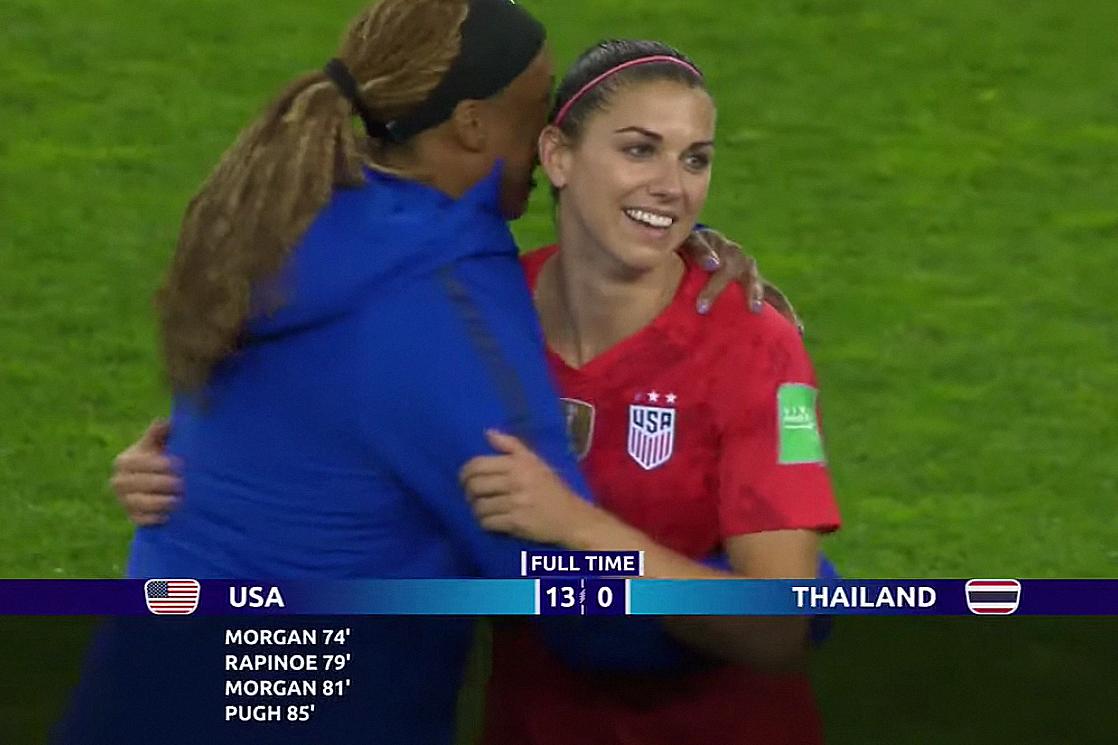 USWNT FIFA Women's World Cup Fox Telemundo Alex Morgan Megan Rapinoe