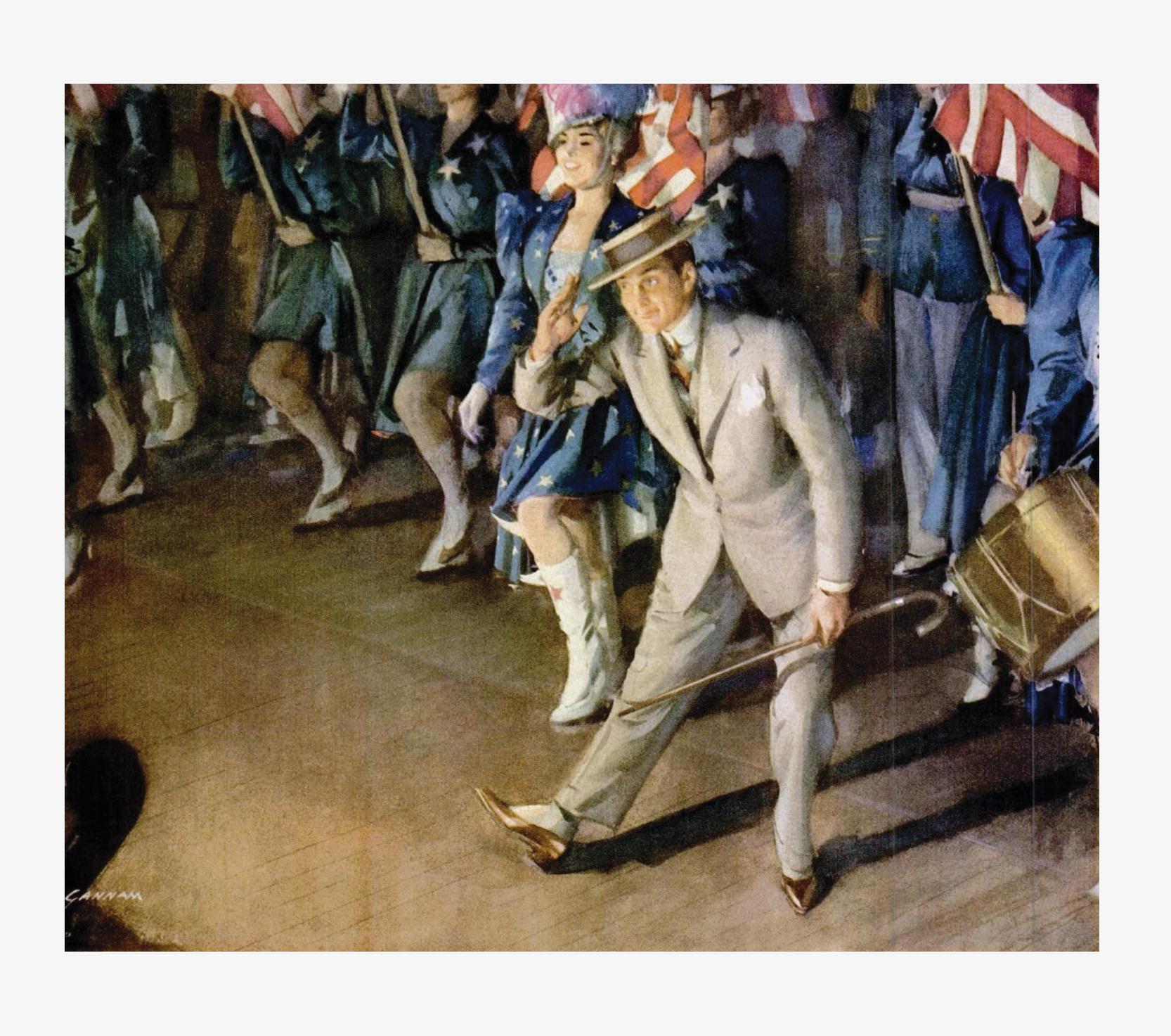 The Good Life recalls an ad from John Hancock celebrating 'Yankee Doodle Boy'