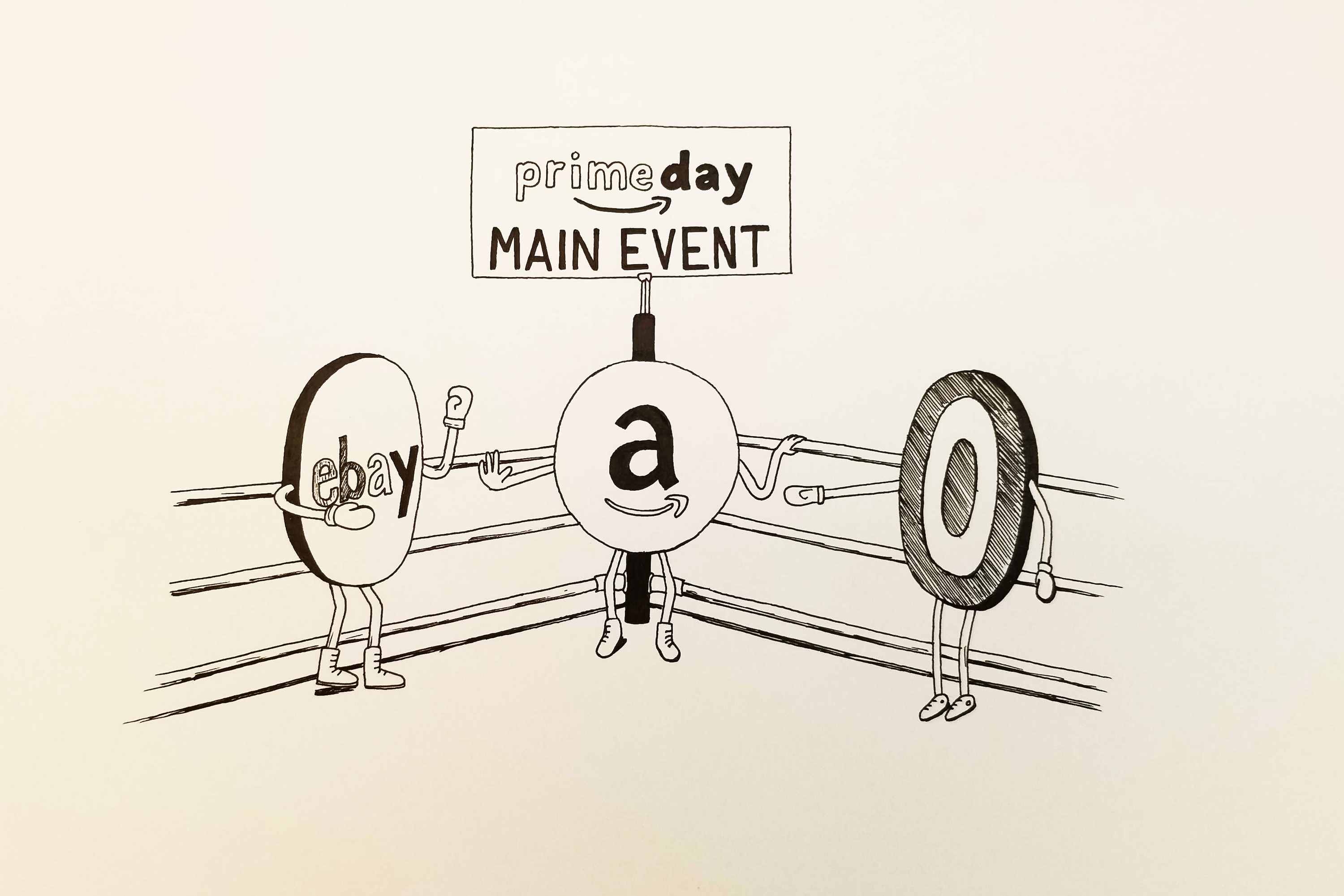 How Ebay and Target are taking shots at Amazon's Prime Day