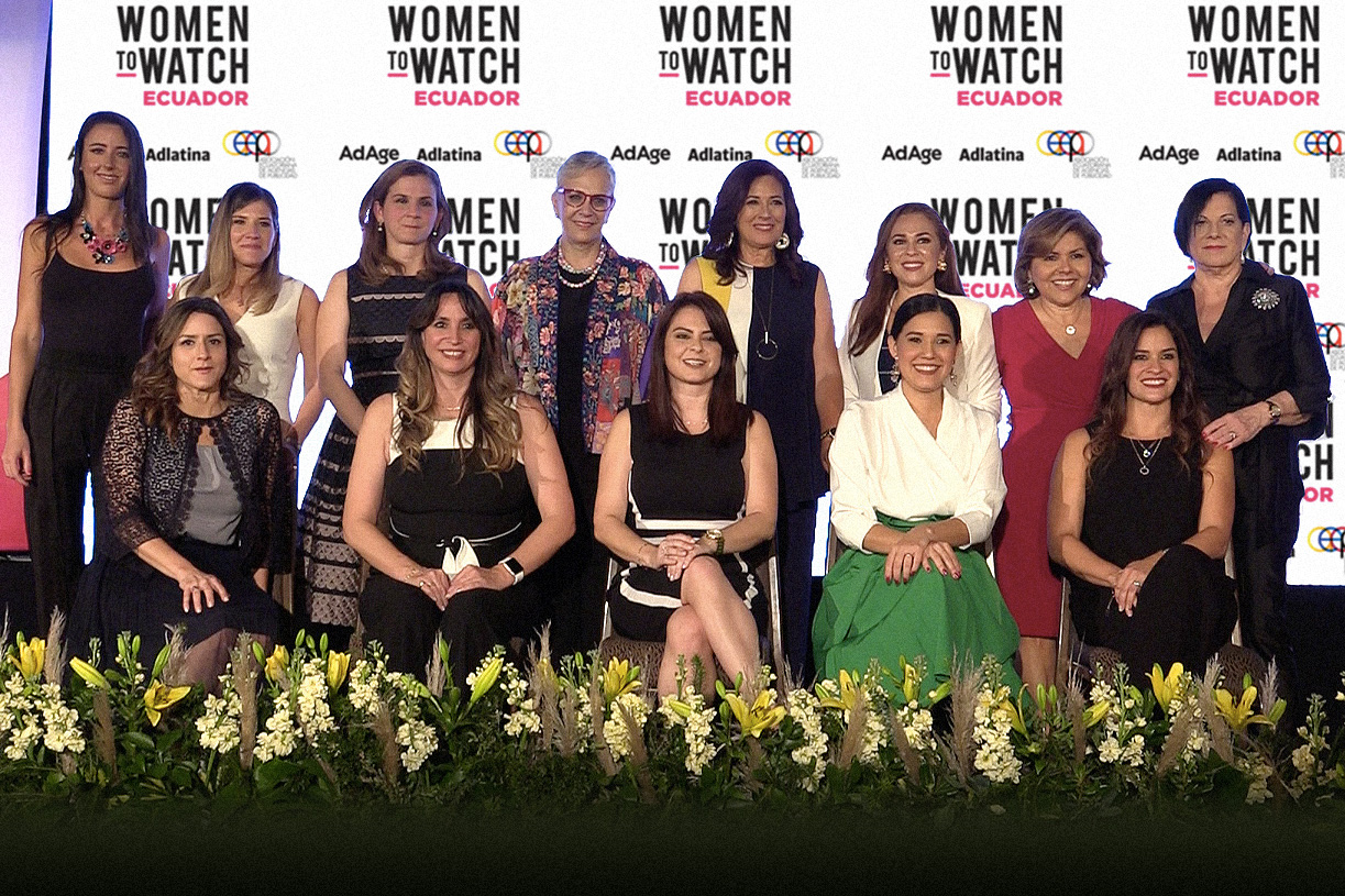 Celebrating Ecuador's Women to Watch, 2019