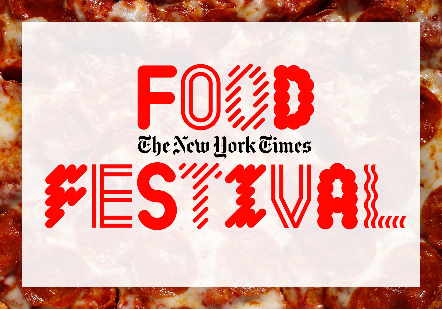 Inaugural NYT Food Festival is a go, with backing from Mastercard, Uber Eats, Bulleit and more