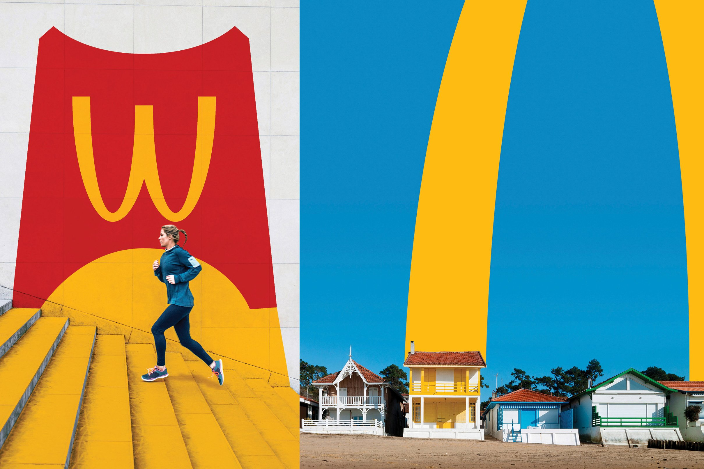 McDonald's serves up a new visual identity