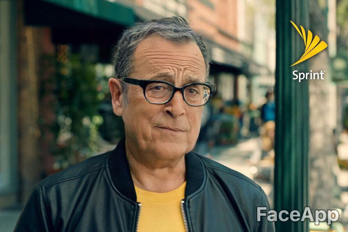 We ran famous brand spokespeople through FaceApp—because why not?