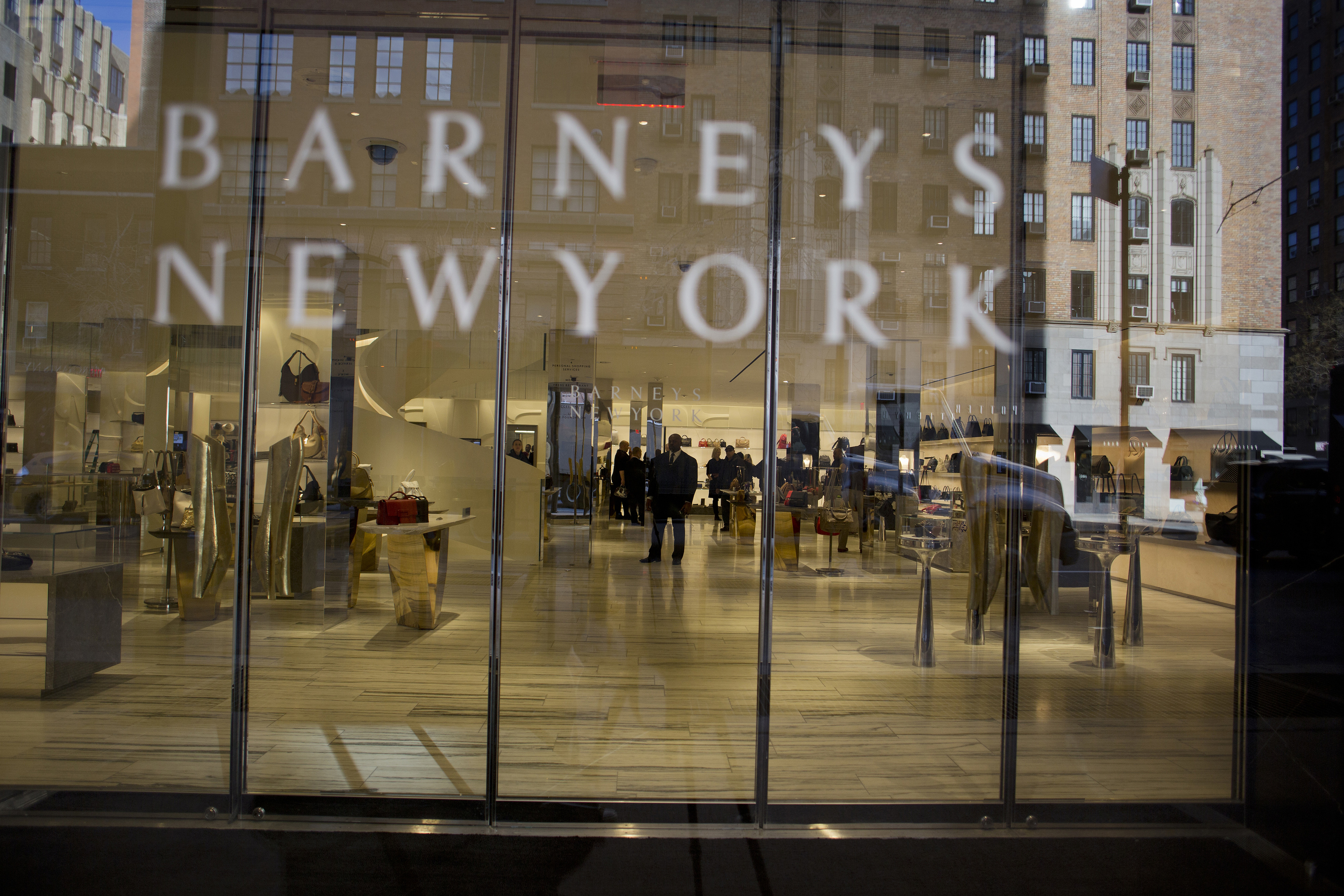Barneys New York is exploring restructuring and bankruptcy