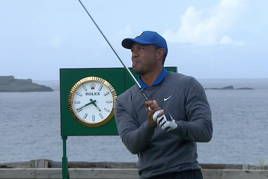 Tiger Woods British Open NBC Jordan Spieth Brooks Koepka