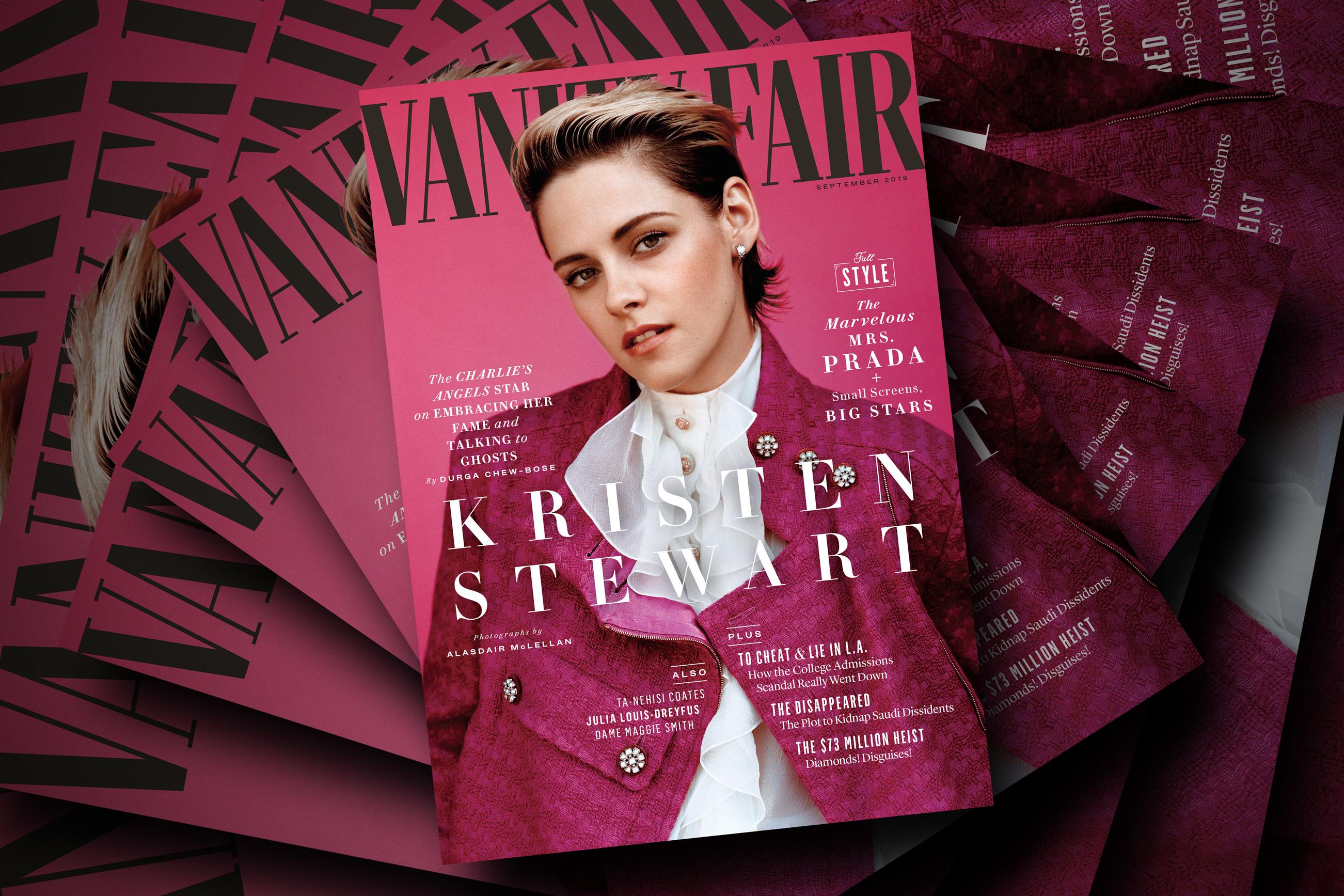 Kristen Stewart fronts the September Vanity Fair