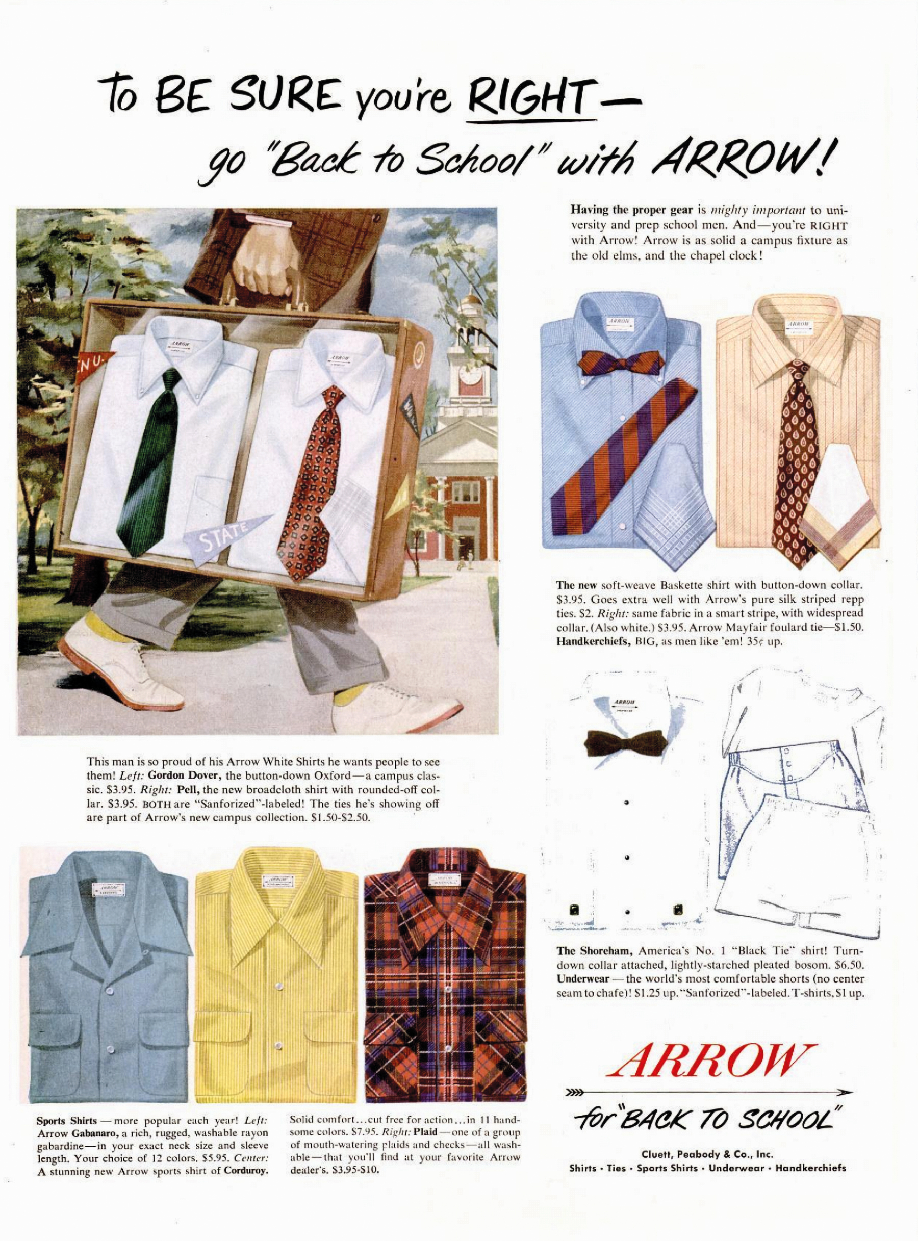 Fashion that's as straight as an arrow | AdAge