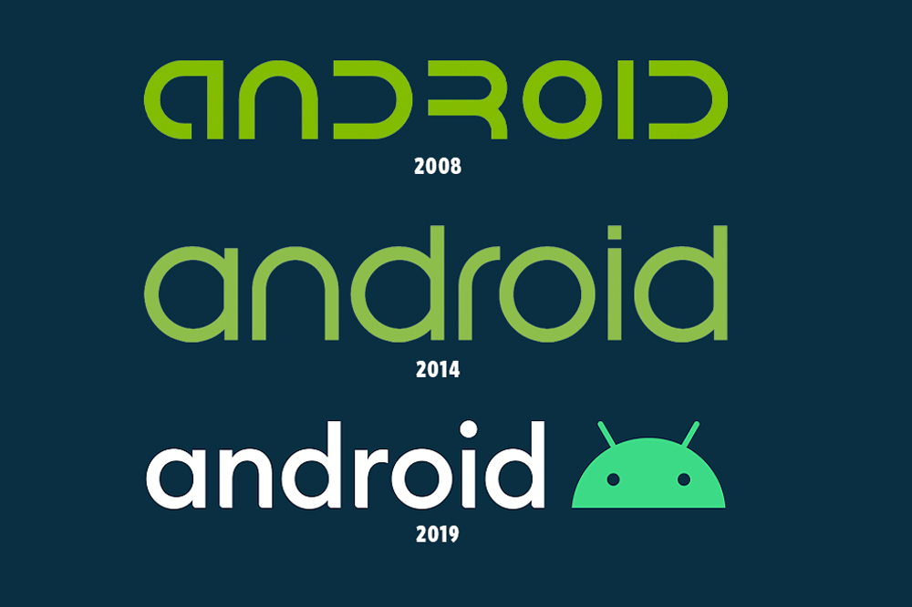 Google Android made two large changes on Thursday: No longer will the company name its operating system after snacks such as 'KitKat,' 'Oreo' and, the company also debuted a new logo and font, one that features the company's iconic green robot.