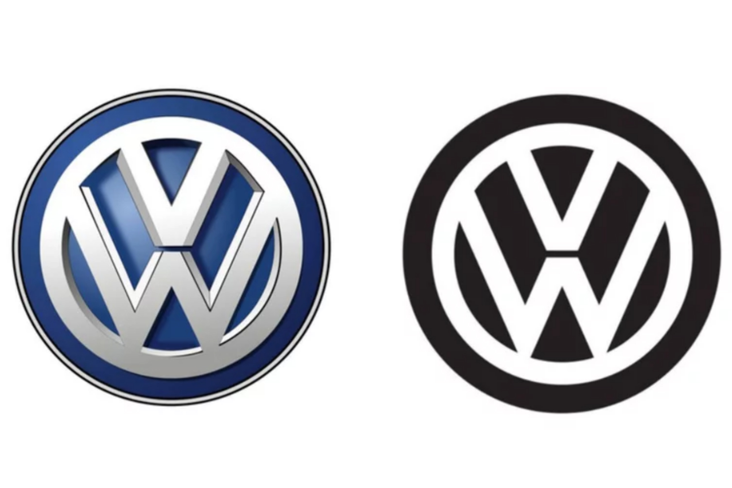 Volkswagen is changing its logo