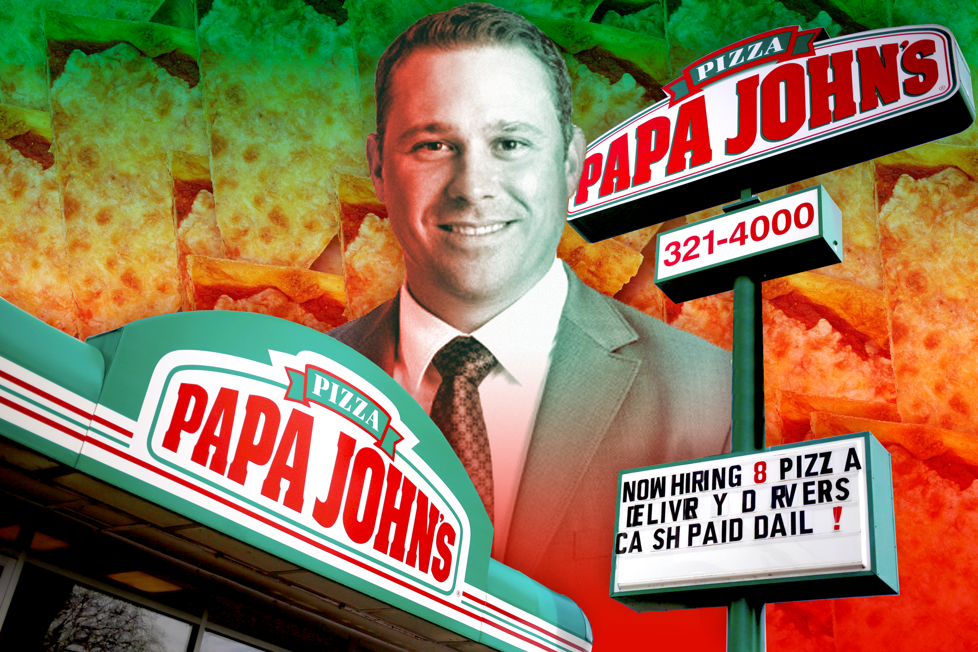 In an ongoing effort to turn around Papa John's tarnished image, the pizza chain names a new CEO