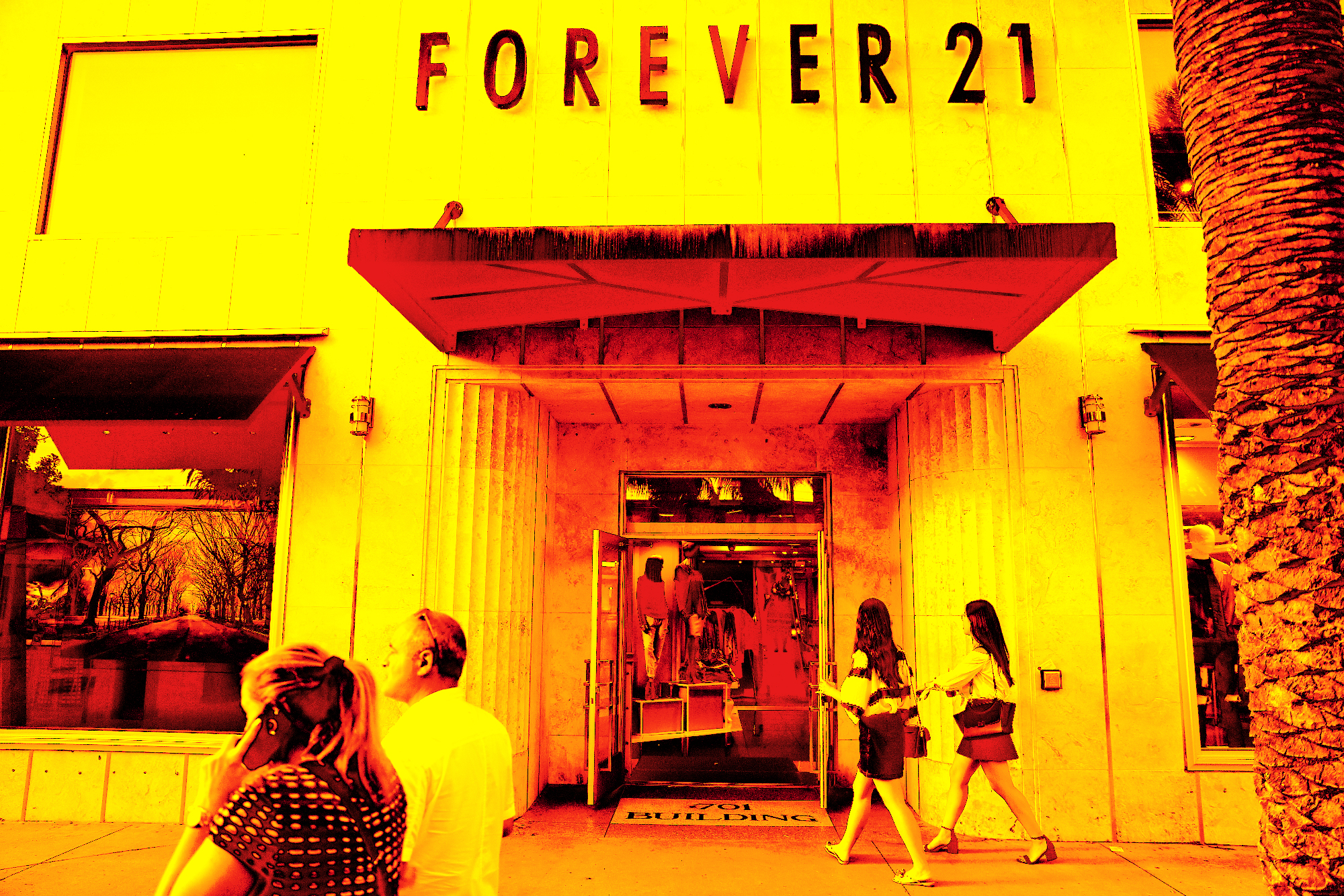 Forever 21 prepares for a potential bankruptcy filing