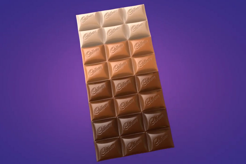 Cadbury's Unity Bar promotes diversity with four different