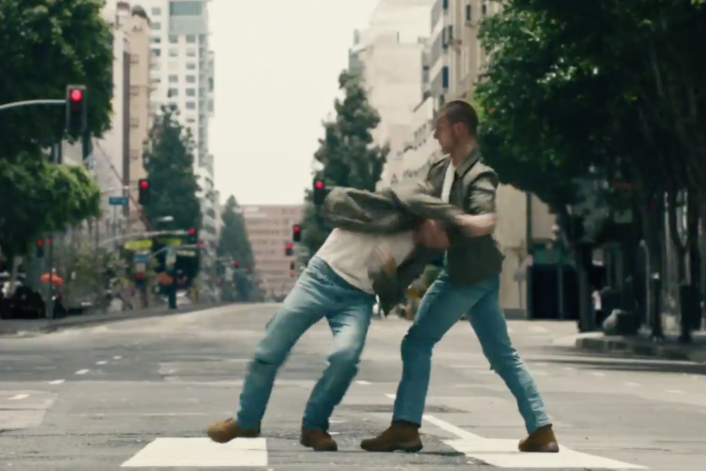 In this World Suicide Prevention Day ad, a man spars with himself, battling invisible guilt