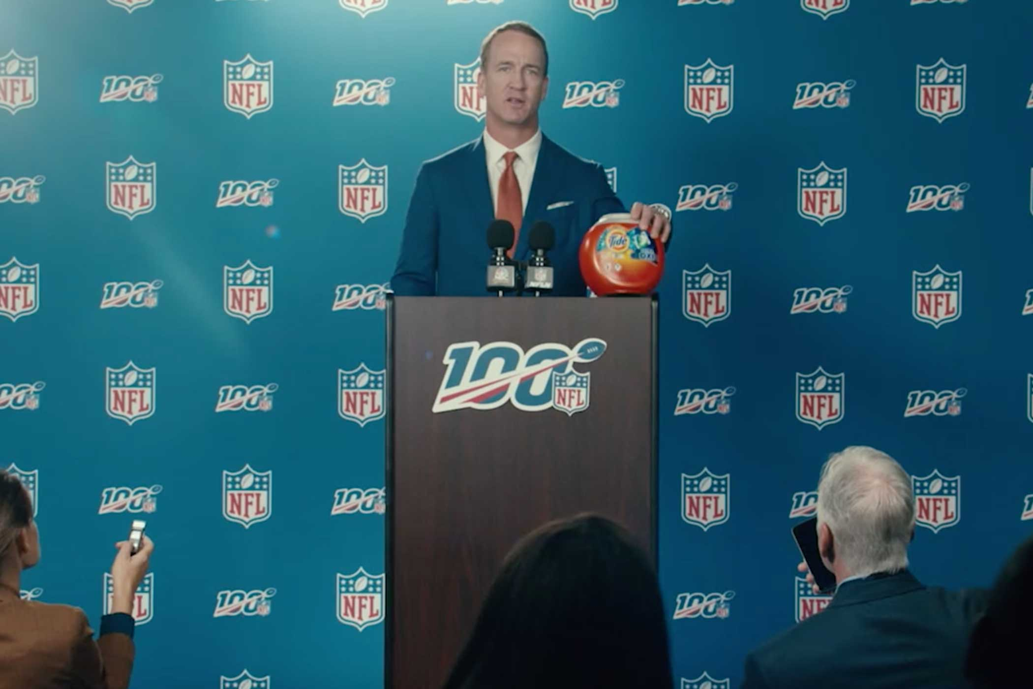 NFL now means 'Not for Laundry,' in new Tide campaign