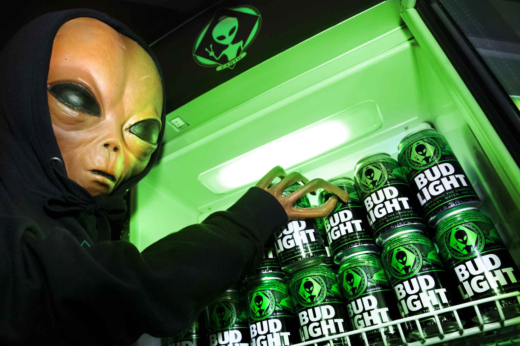 Bud Light and Arby's join alien-themed 'Storm Area 51' parties