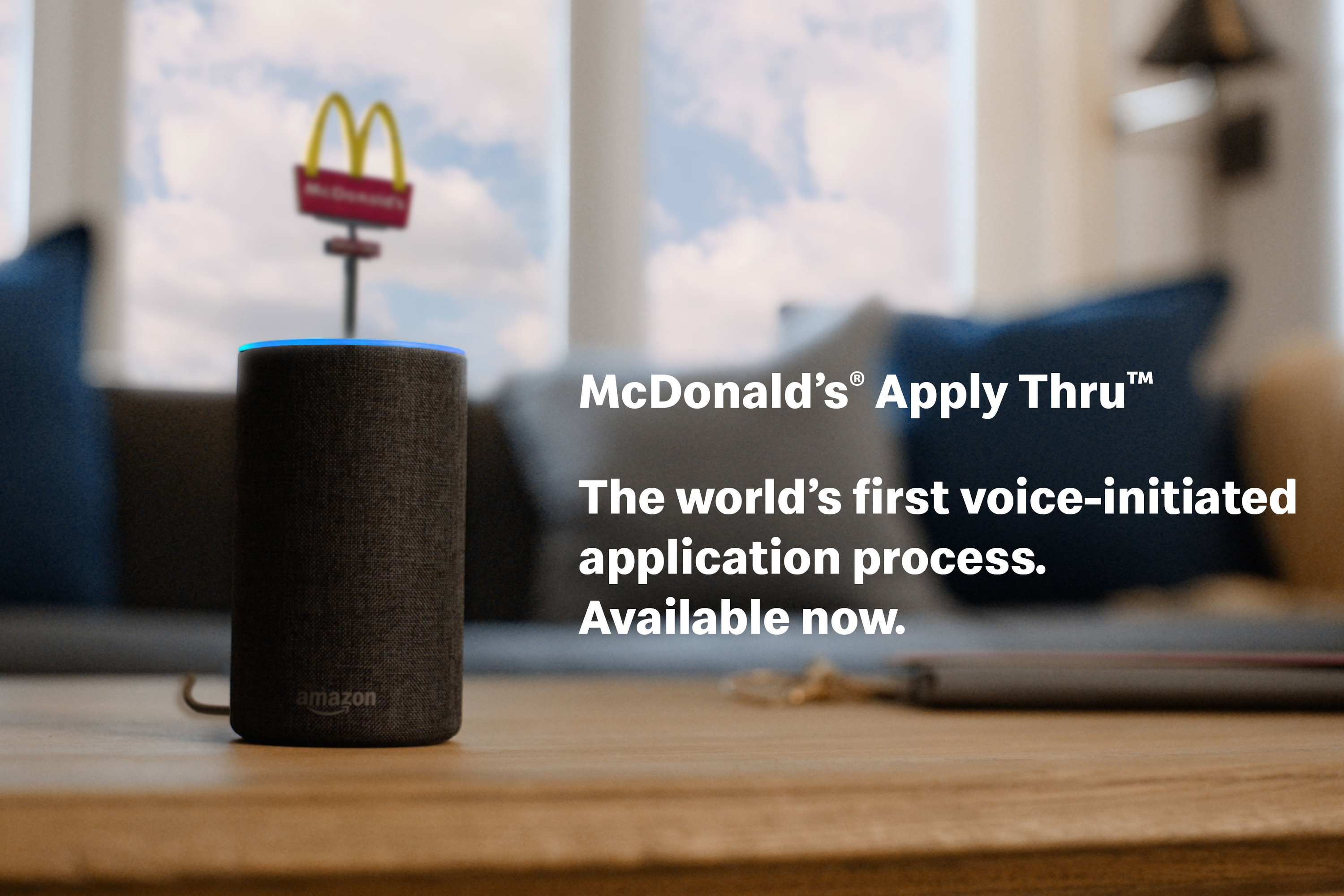 Job seekers can now start the McDonald's application process by speaking to Alexa or the Google Assistant