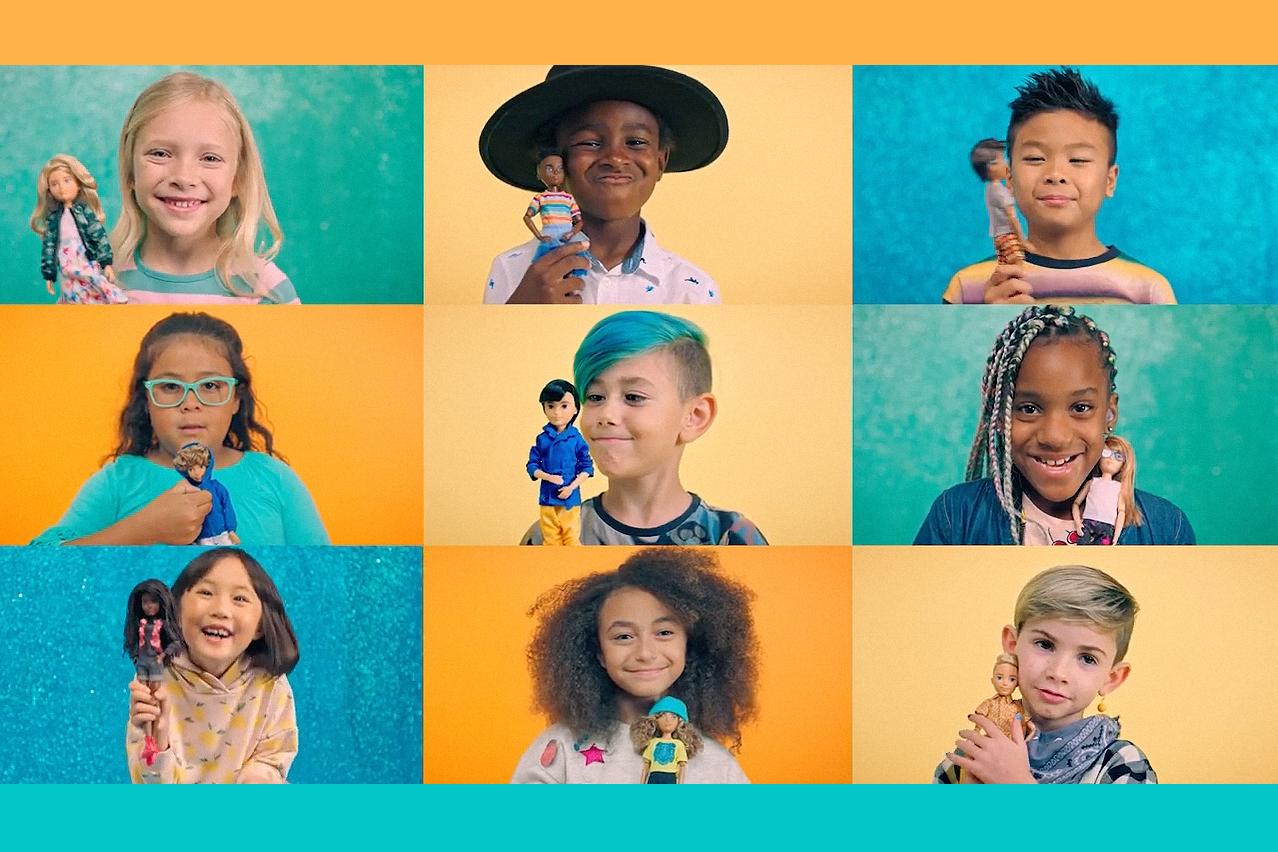 Mattel: Gender-Inclusive Doll