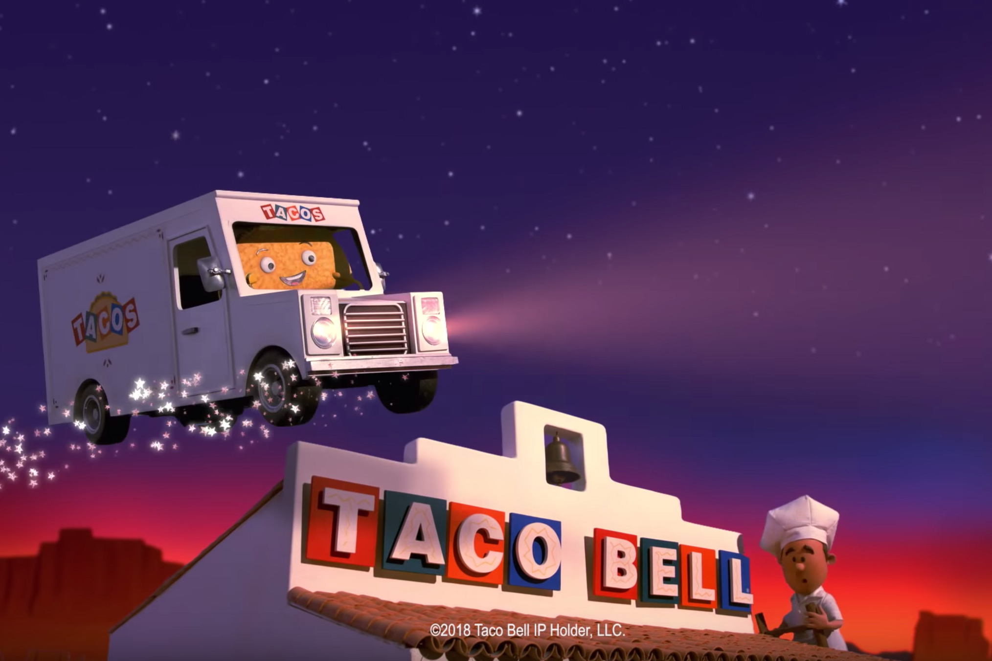 Watch the newest commercials on TV from Taco Bell, Nationwide, Chevron and more