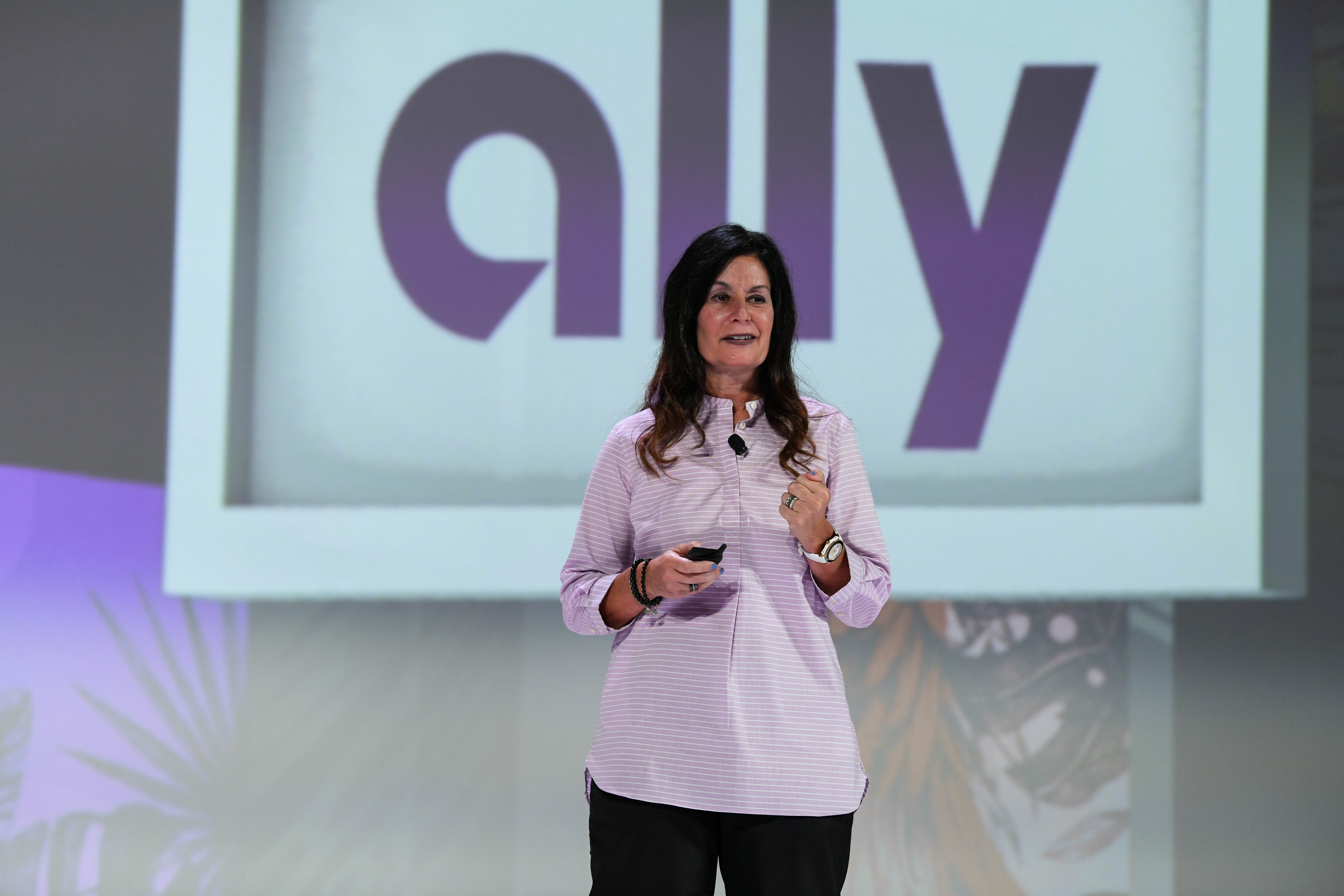 In recession, lean into your brand, says Ally's Andrea Brimmer