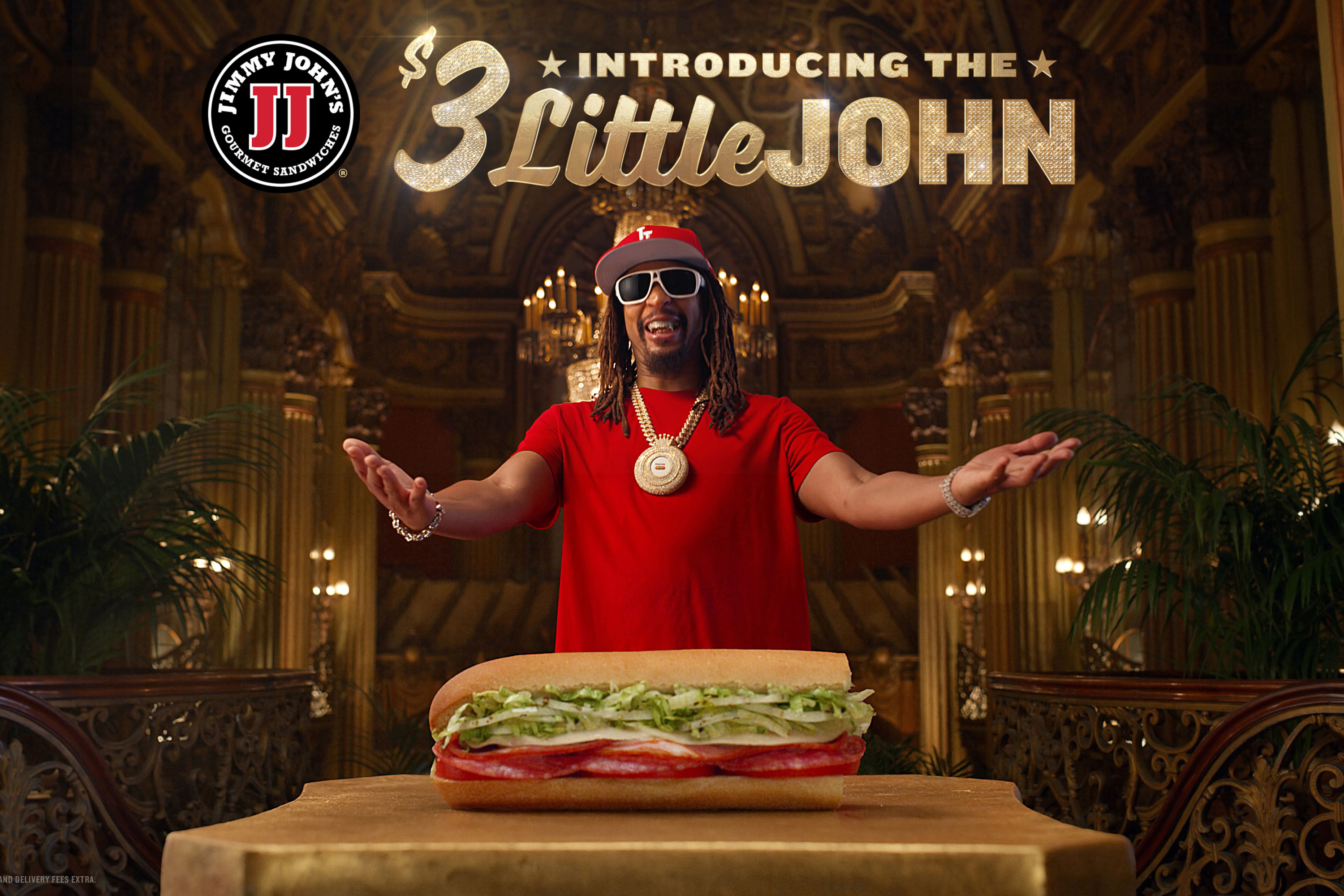 Jimmy John's hires Lil Jon to promote its Little John sandwich