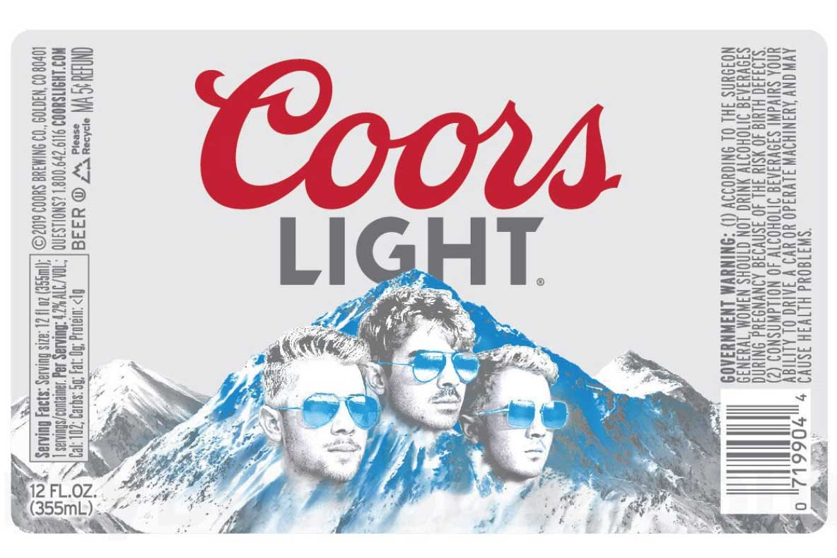 Jonas Brothers to be plastered on Coors Light bottles: Marketer's Brief