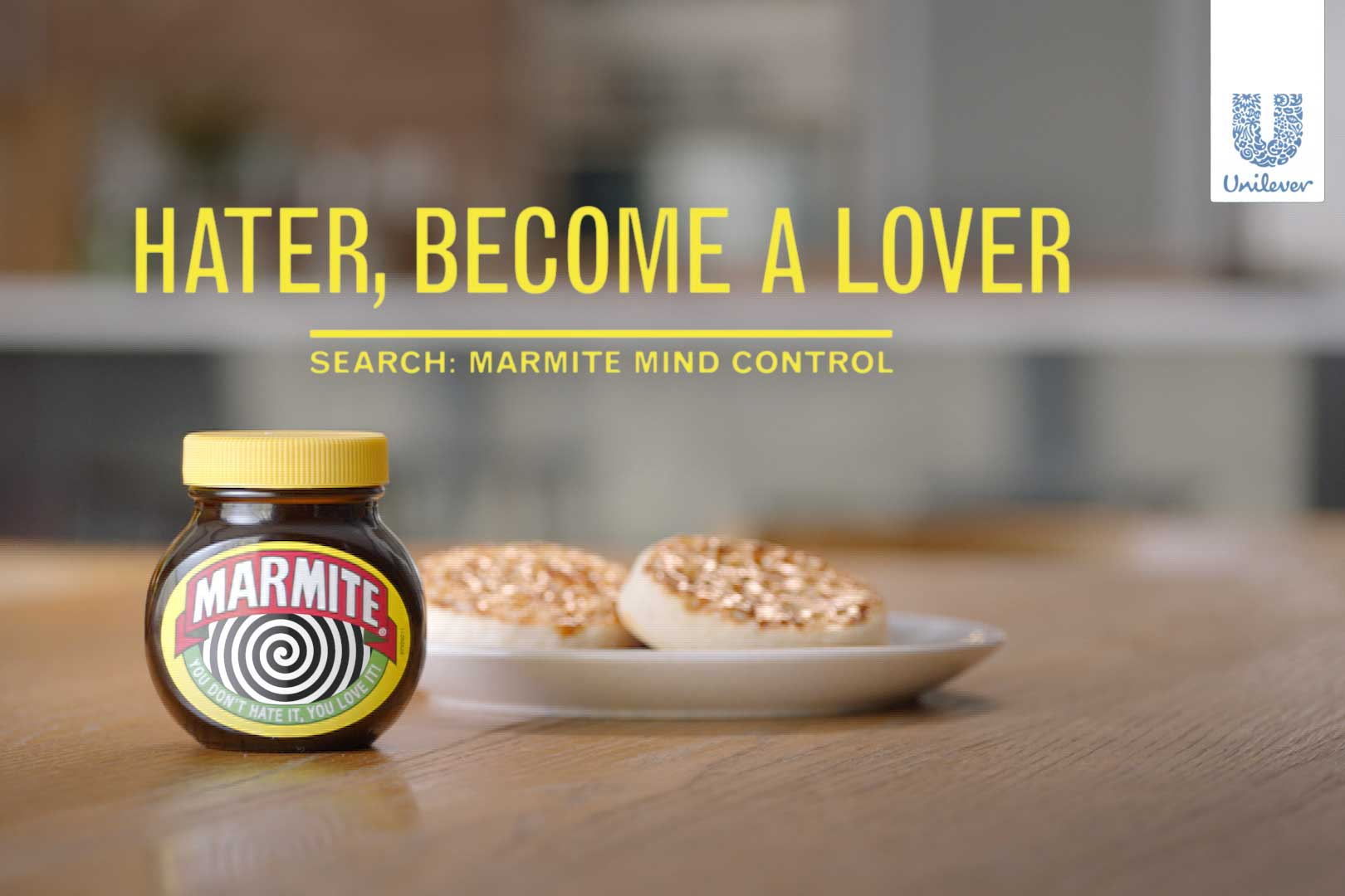 MARMITE IS TRYING TO HYPNOTIZE HATERS INTO LIKING IT