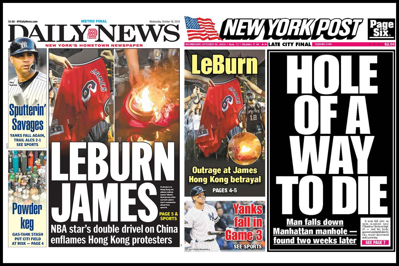 LeBron James is now LeBurn James
