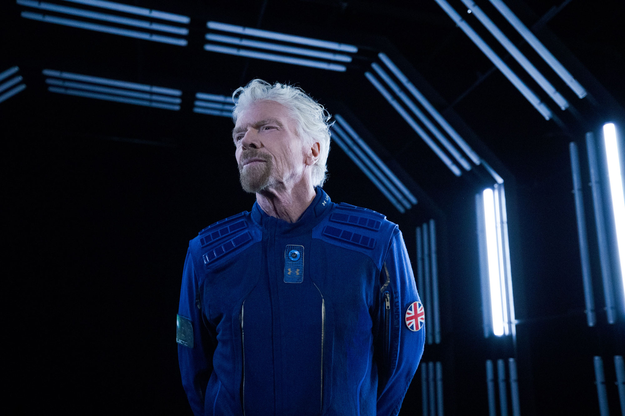 Under Armour and Virgin Galactic unveil spacesuits