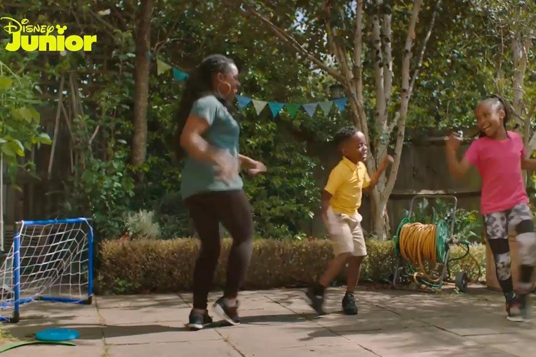 Sport England/Disney: Dance-Along