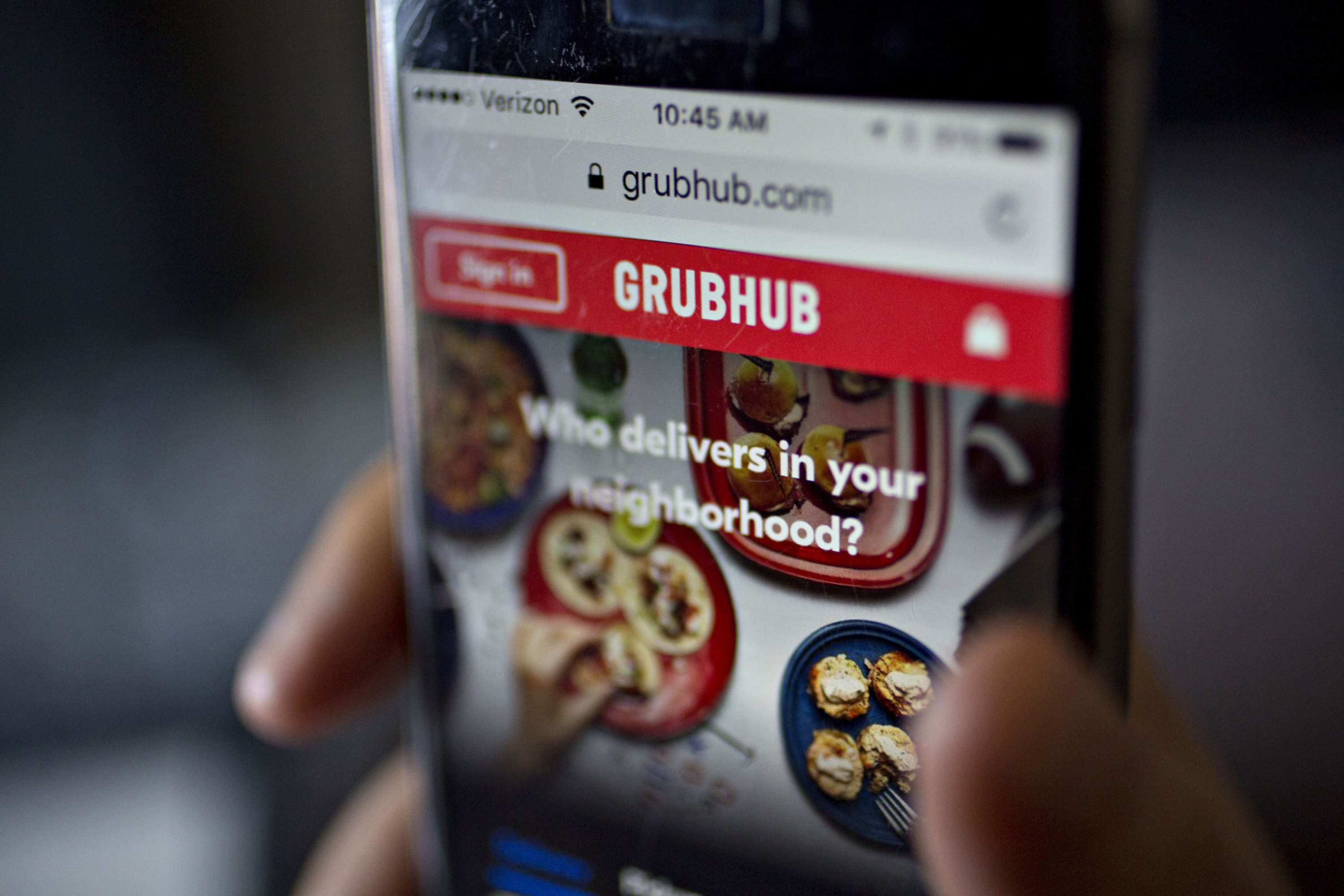 Competitors, lagging sales take bite out of Grubhub