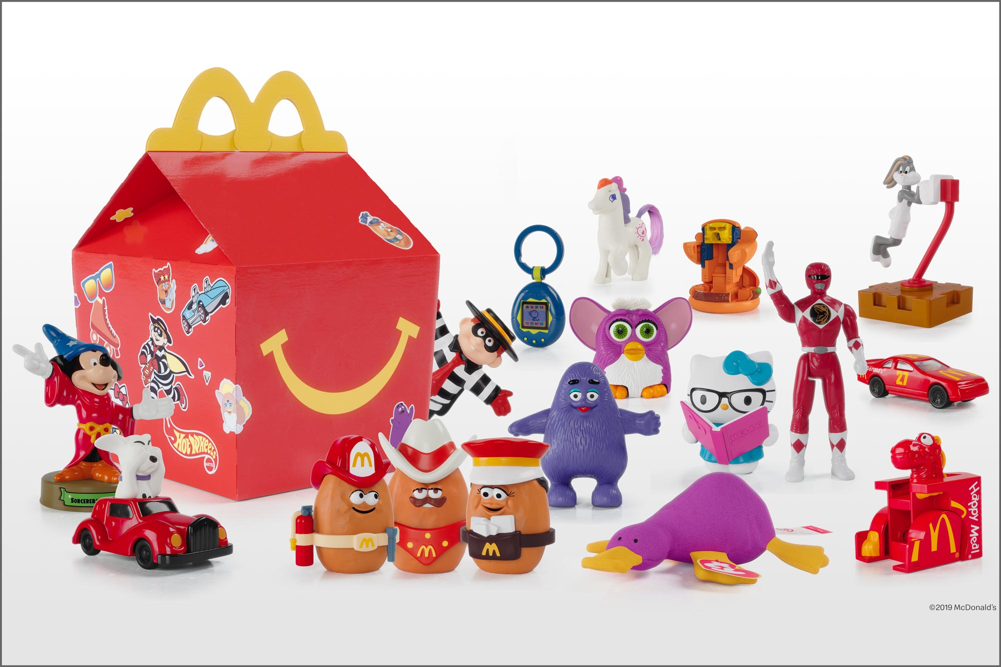 McDonald's brings back retro Happy Meal toys in a nostalgic play to boost restaurant visits