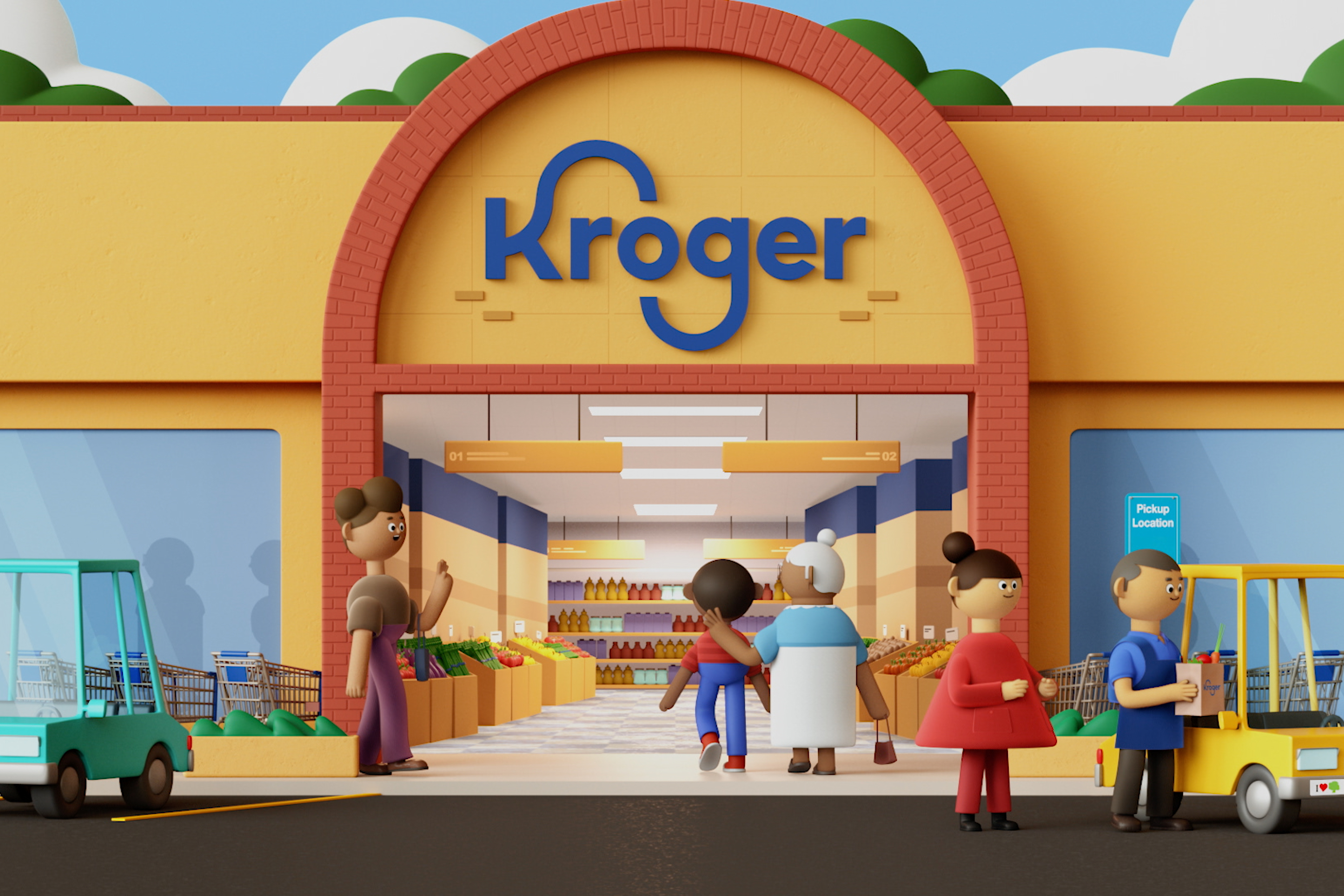 Kroger freshens brand with debut work from DDB, its first agency of record